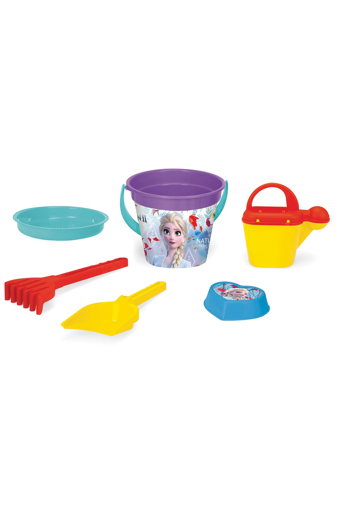 Frozen komplet zabawek do piasku 6 elementów
