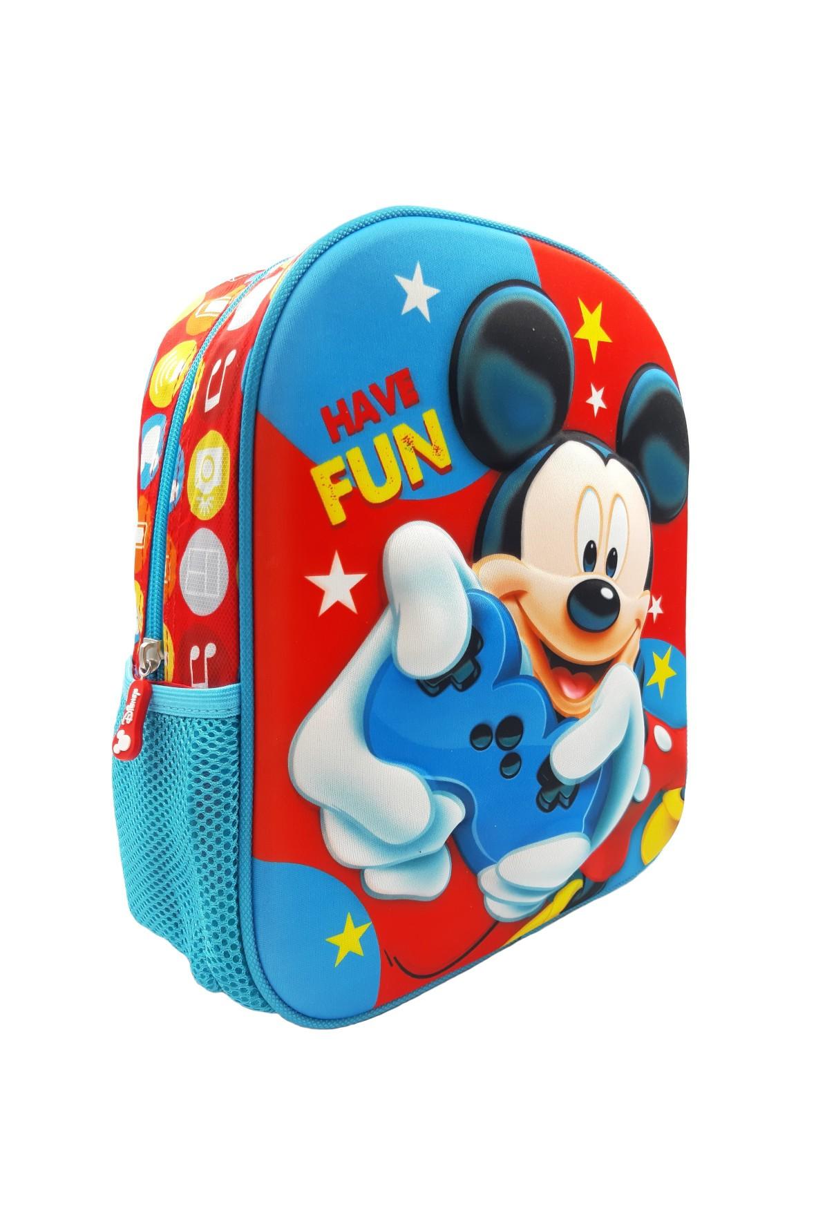 Plecak Myszka Miki - niebieski