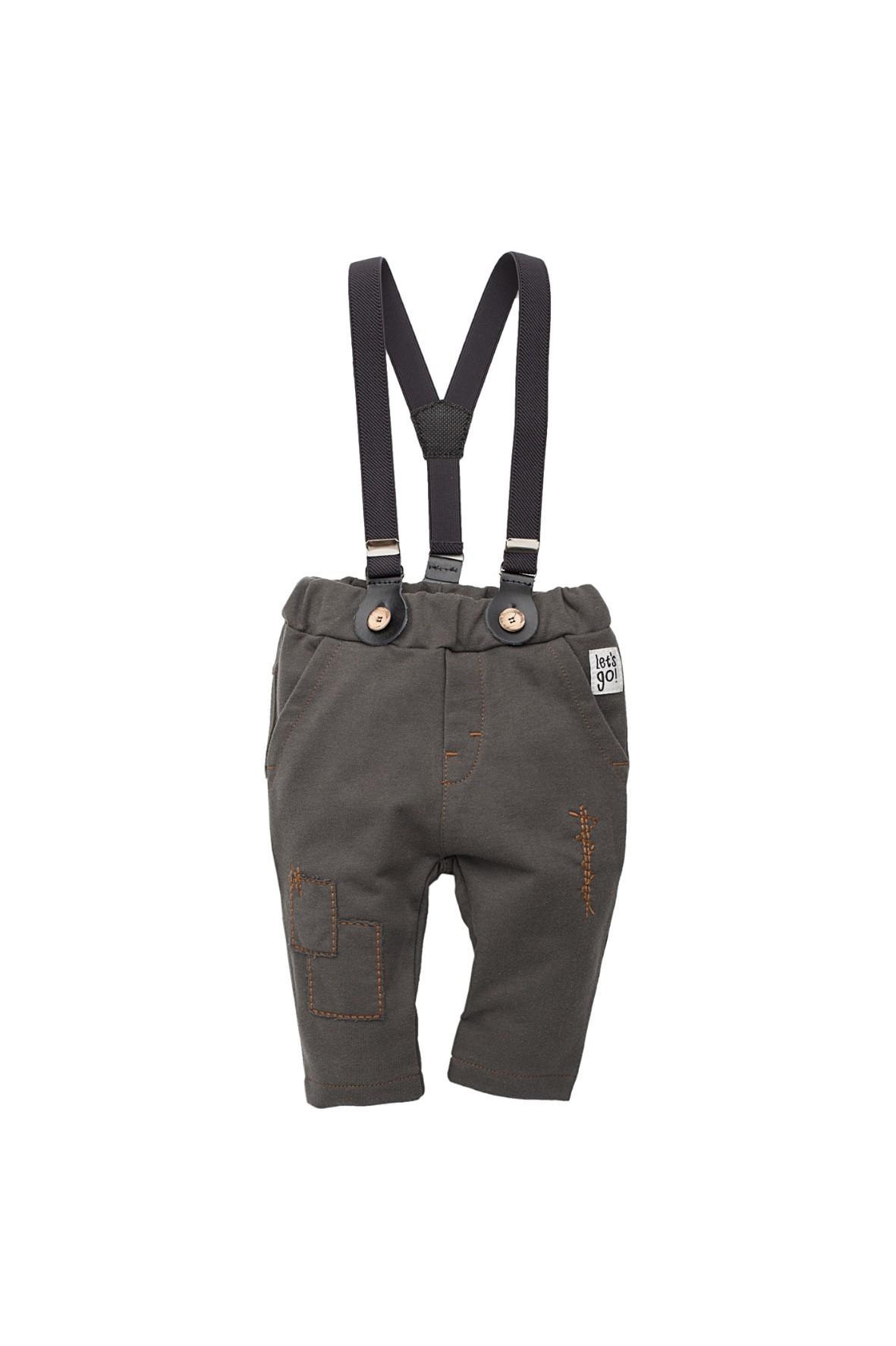 Spodnie z szelkami Old Cars
