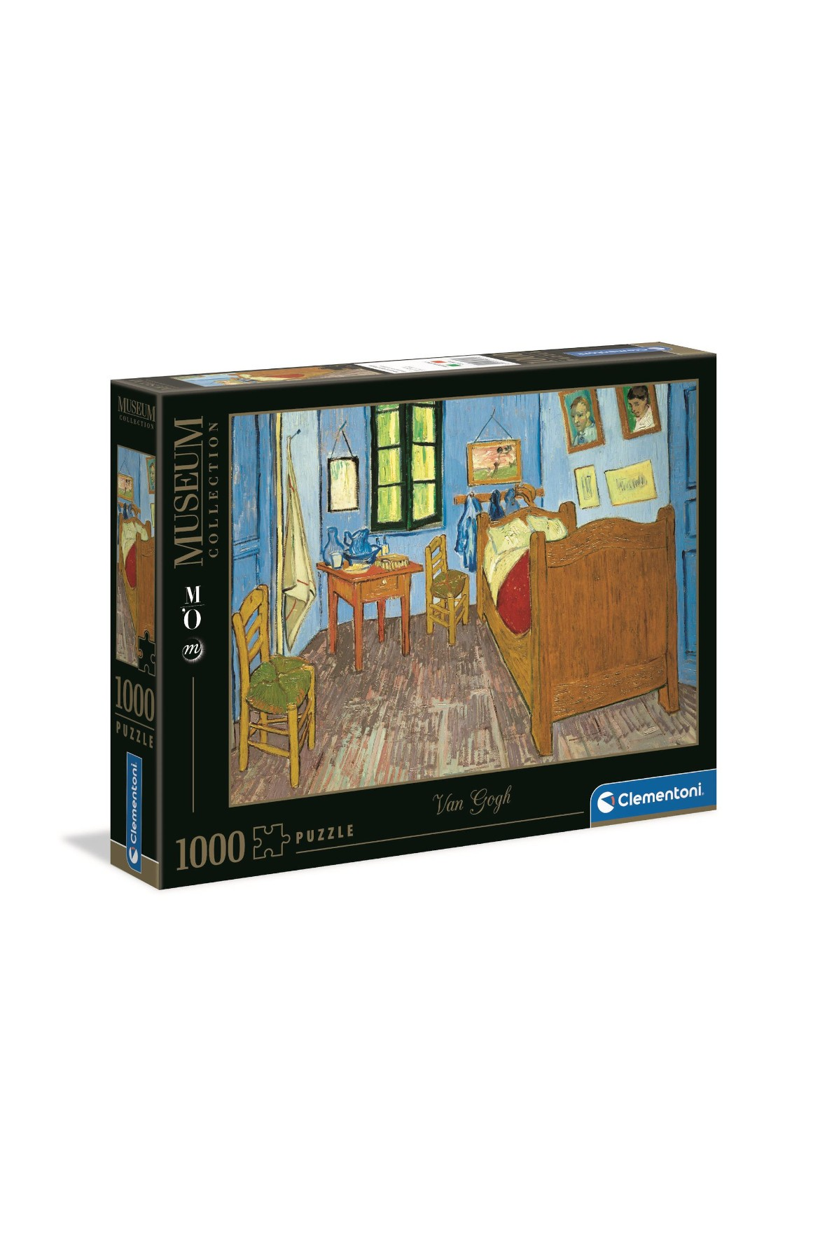 Puzzle Clementoni Museum Van Gogh: Sypialnia w Arles - 1000 elementów