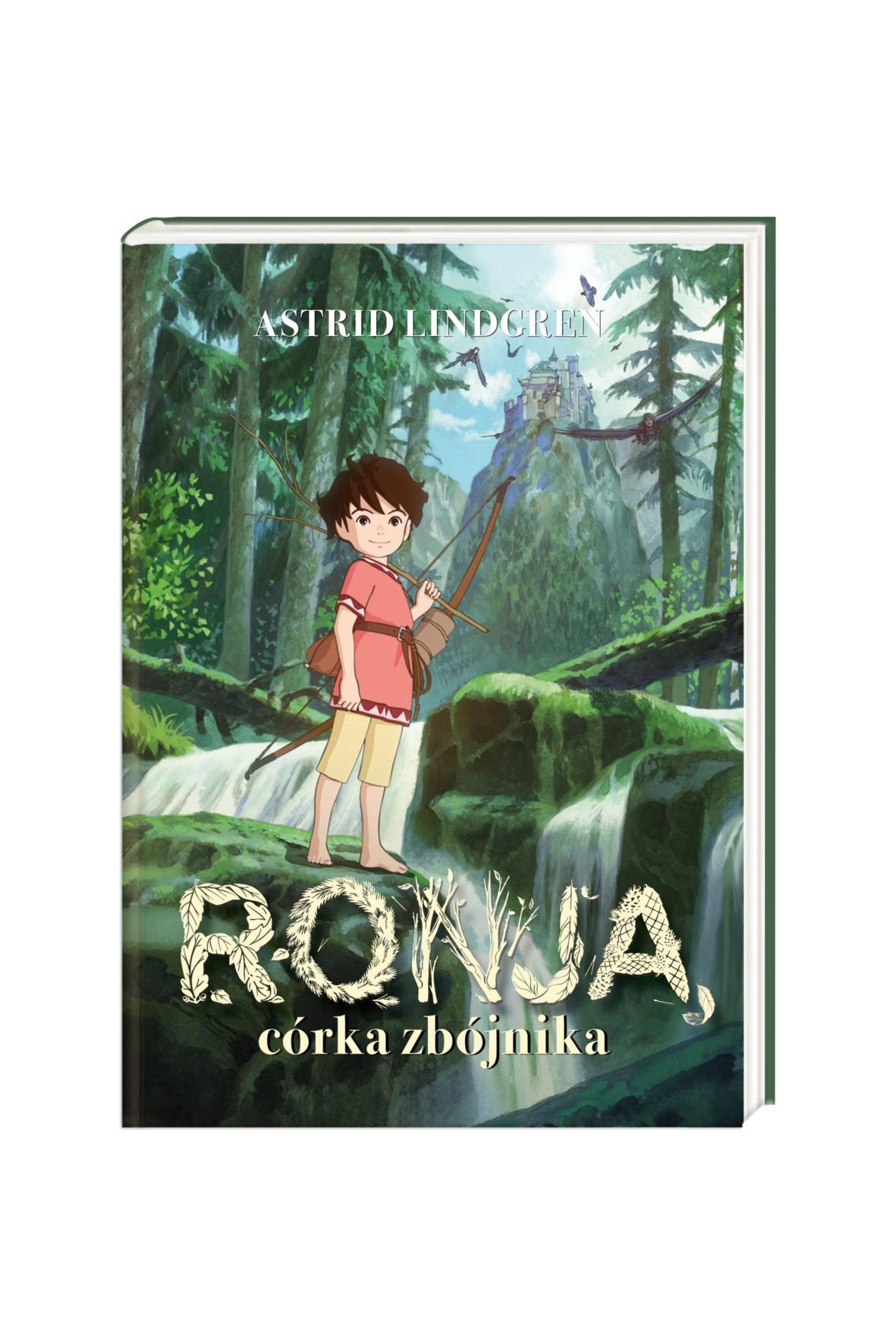 "Książka ""Ronja, córka zbójnika"""