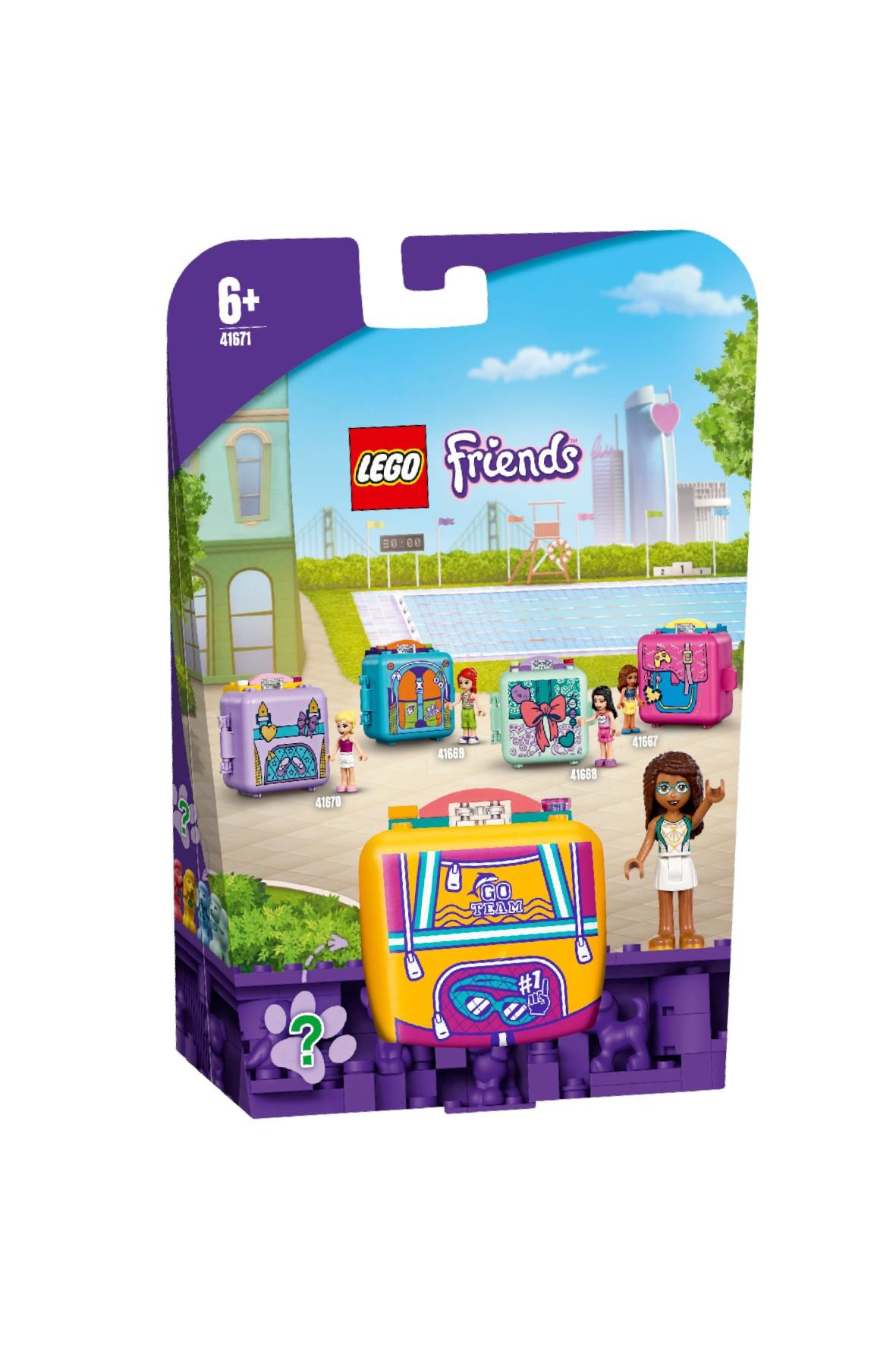 LEGO® Friends  Pływacka kostka Andrei (41671) wiek 6+