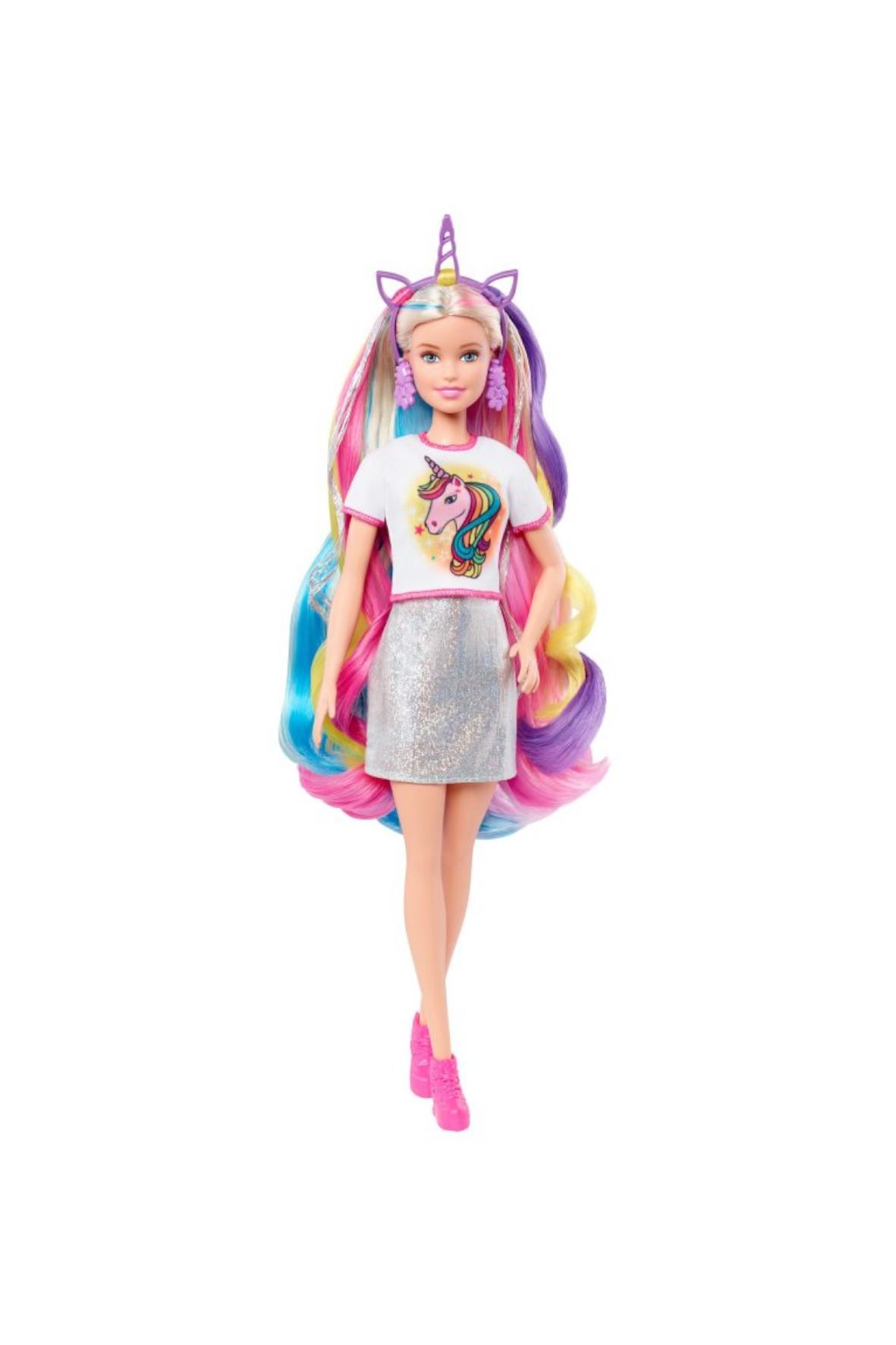 Barbie Lalka Baśniowa fryzura wiek 5+