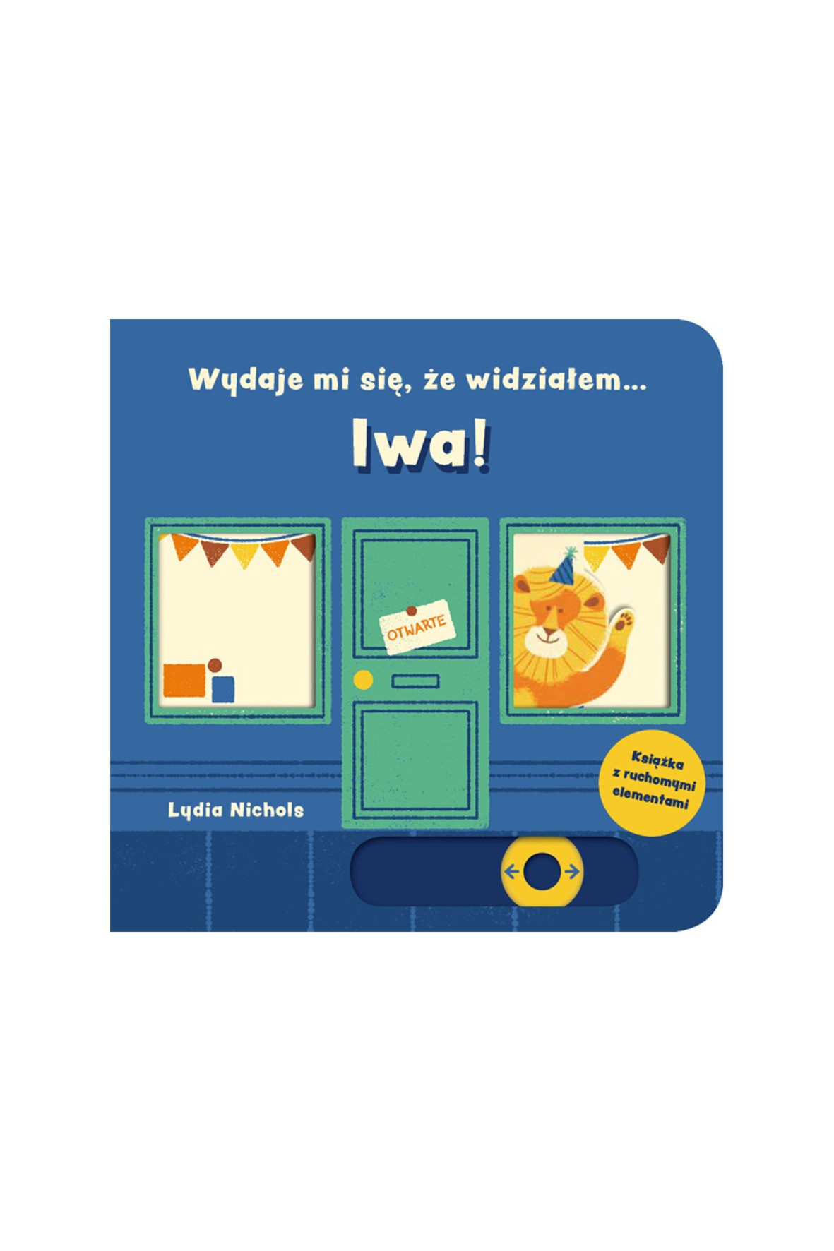 """Książka dla dzieci """"Wydaje mi się, że widziałem... LWA""""-L.Nichols"""