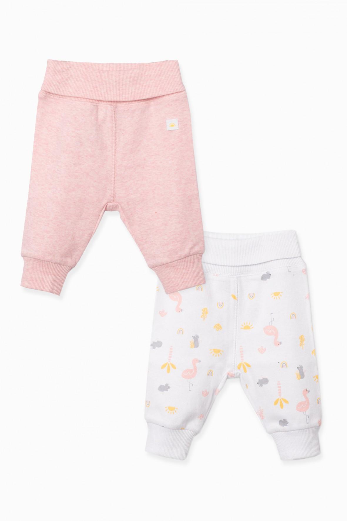 Półśpiochy niemowlęce 2pak we wzorki