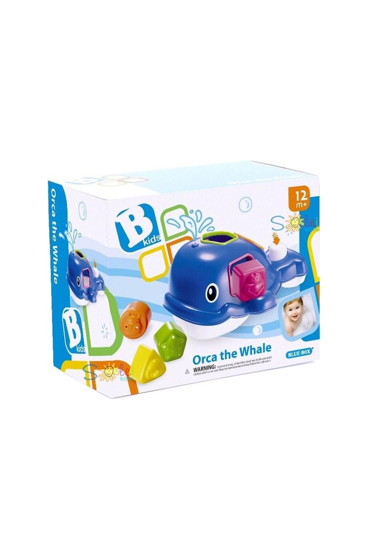 Sorter Wieloryb- zabawka kąpielowa B-kids 12msc+