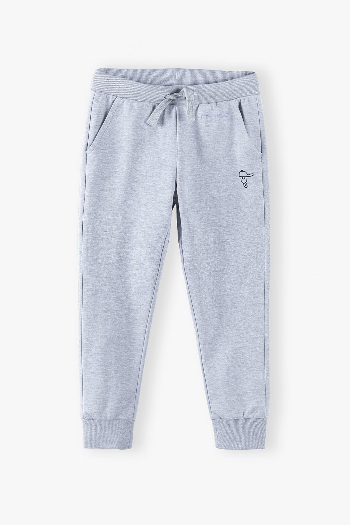 Spodnie sportowe chłopięce - szare