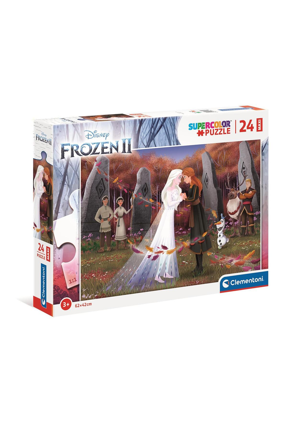 Puzzle Maxi Super Color Frozen 2 - 24 el wiek 3+