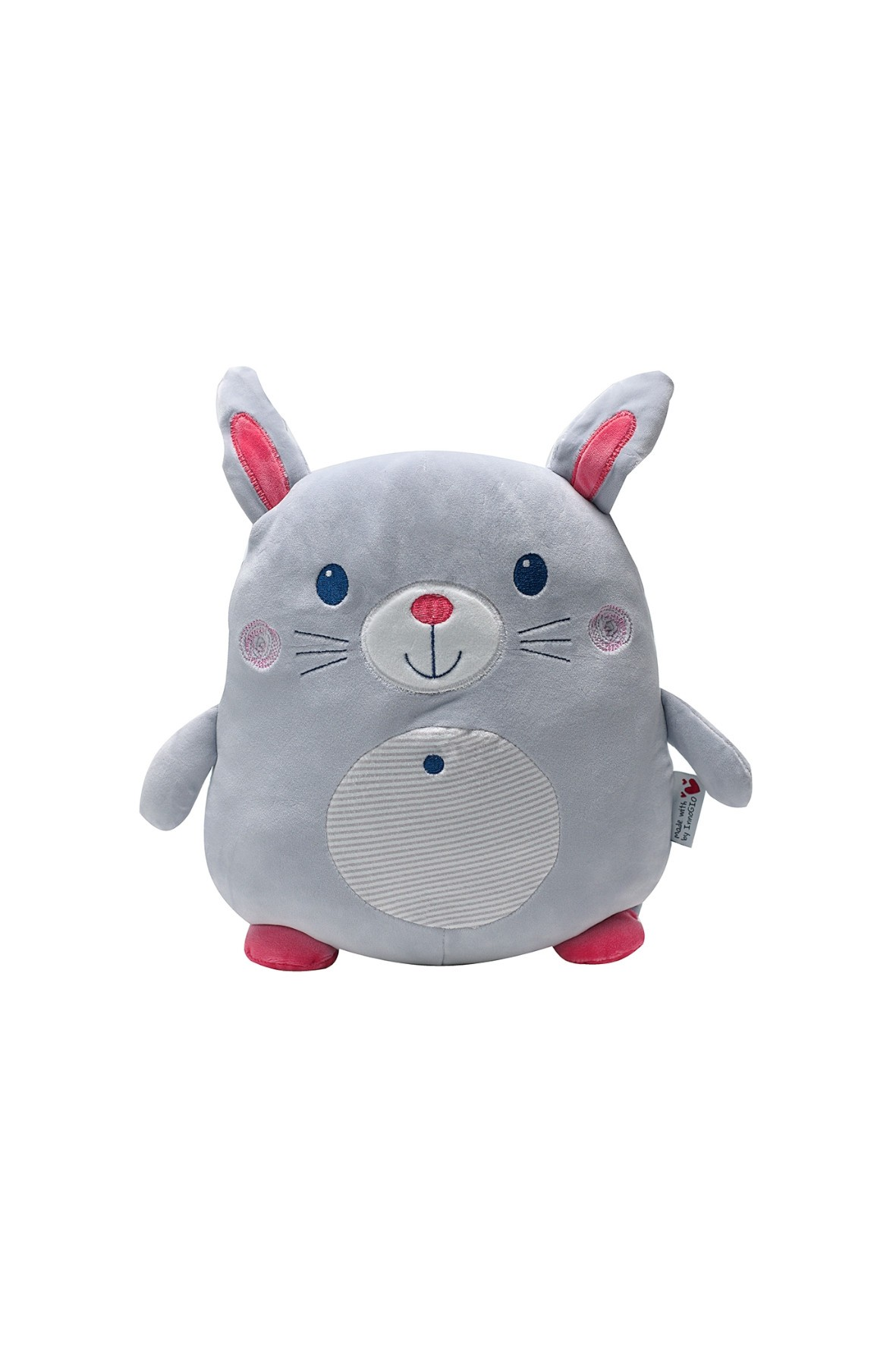 Pluszak InnoGIO GIOplush Rabbit Gray 32cm