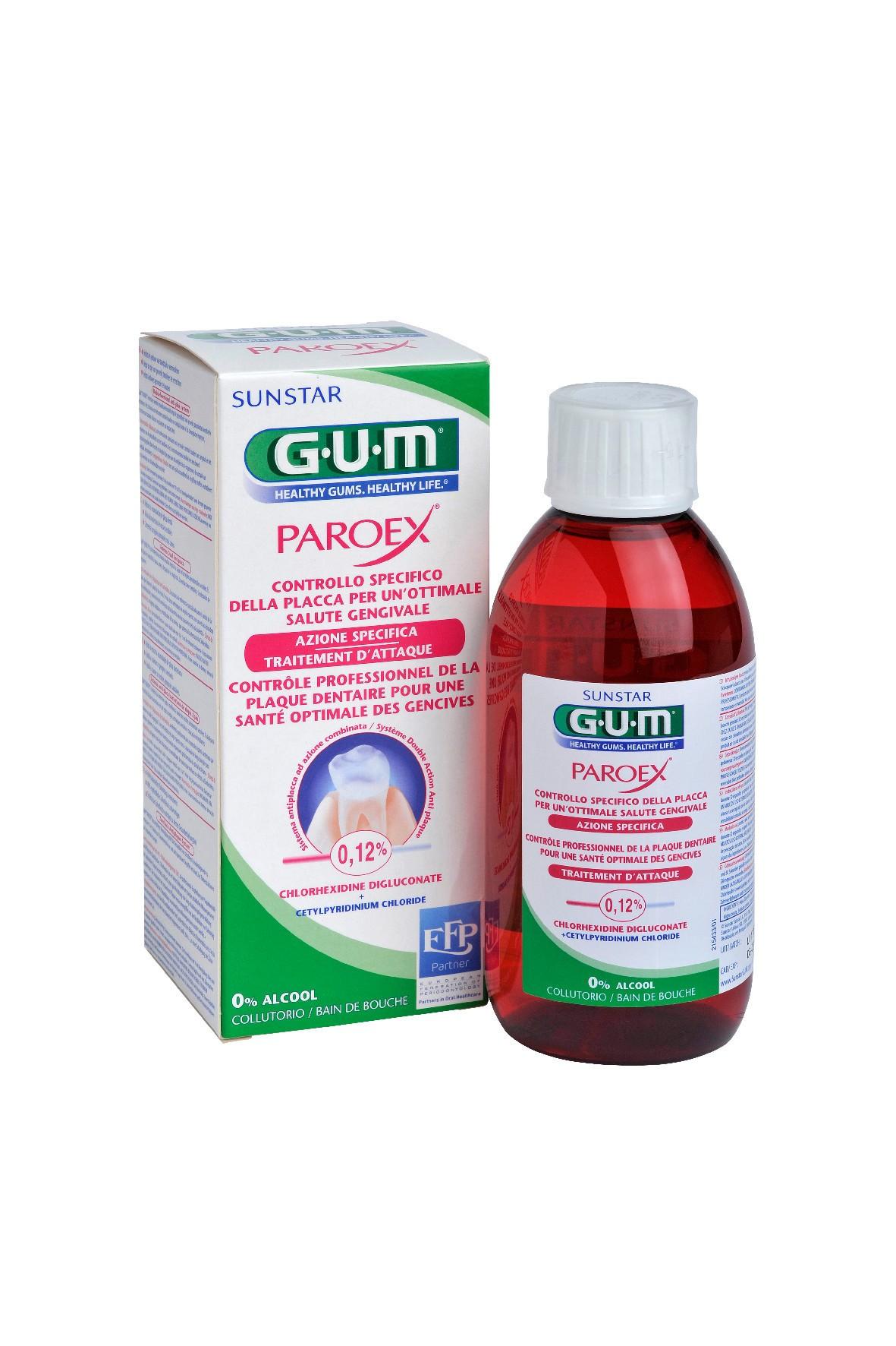 Płyn antyseptyczny do jamy ustnej Paroex 0,12% 300 ml