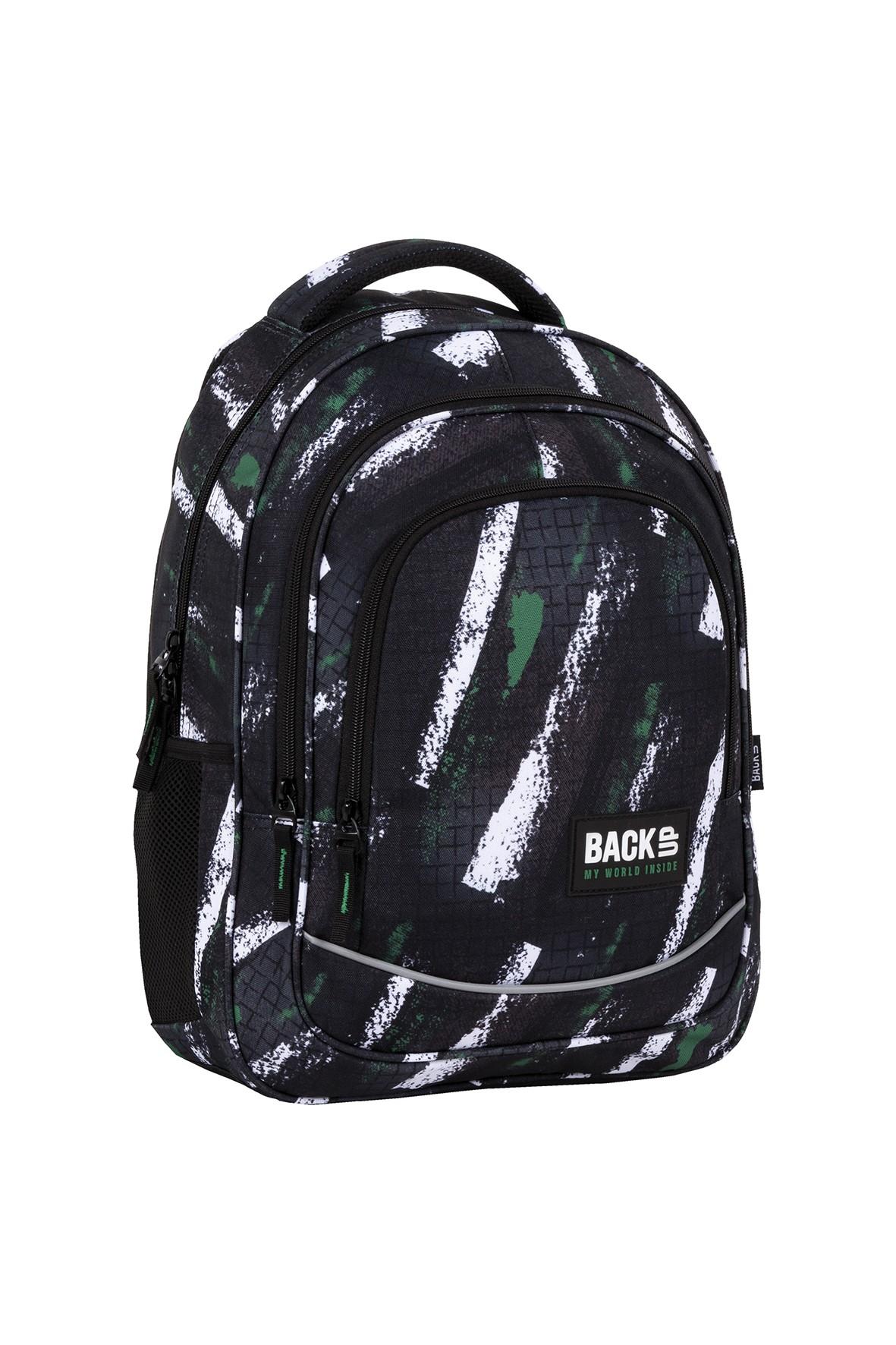Plecak BackUp chłopięcy z wzorami