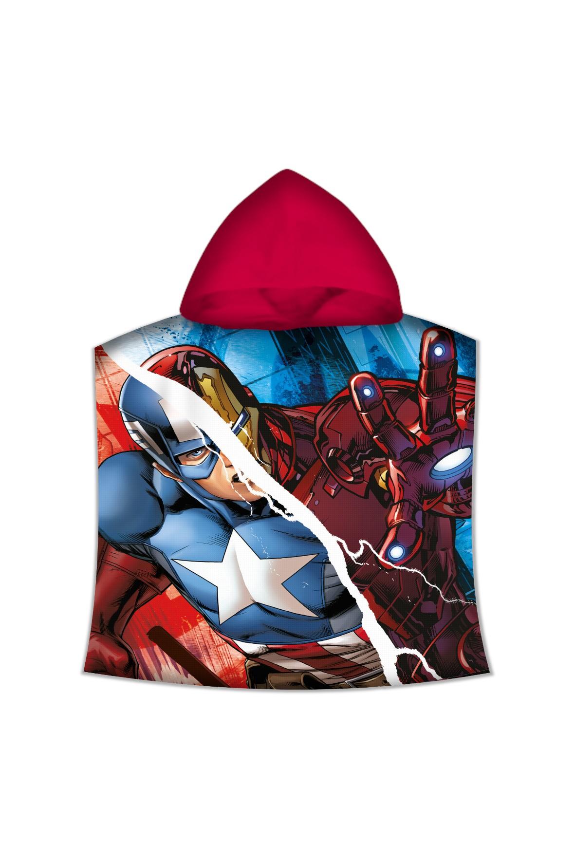 Poncho kąpielowe z motywem Avengers