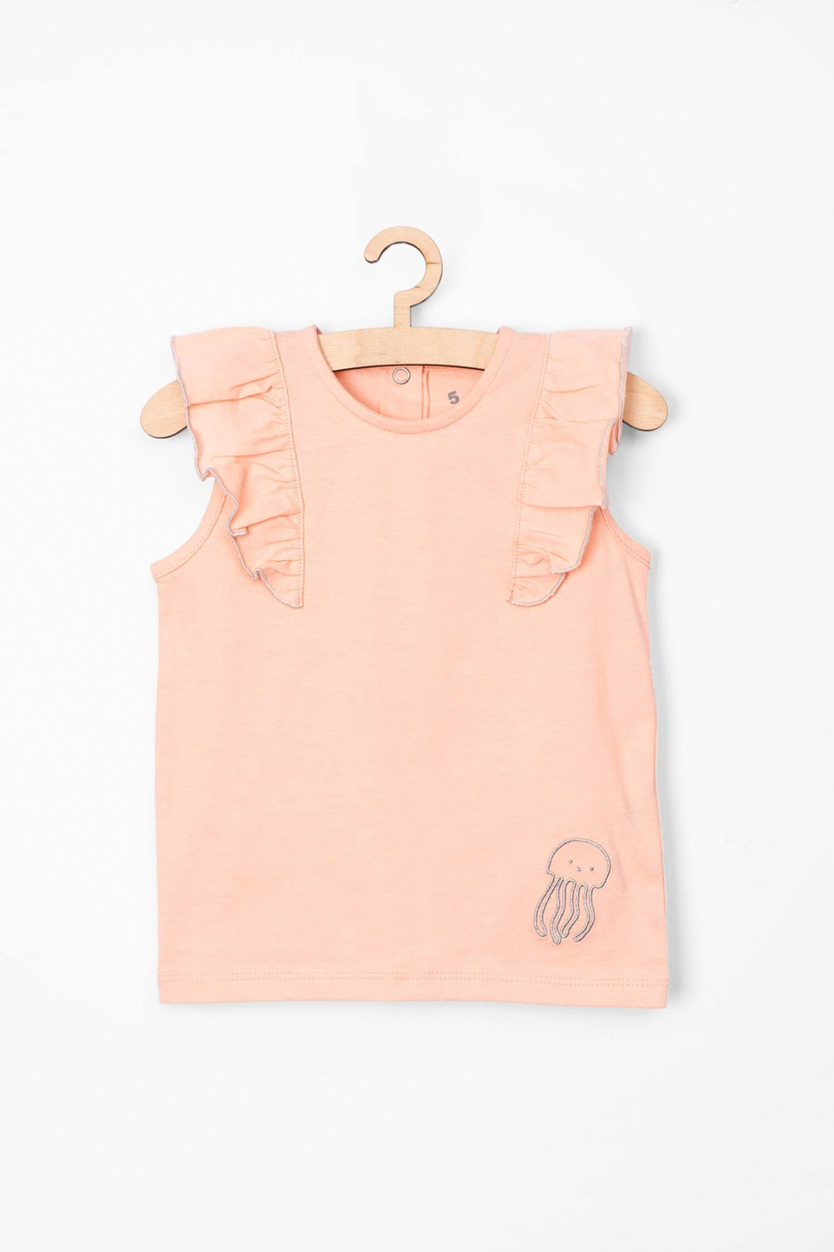 Koszulka dziewczęca różowa