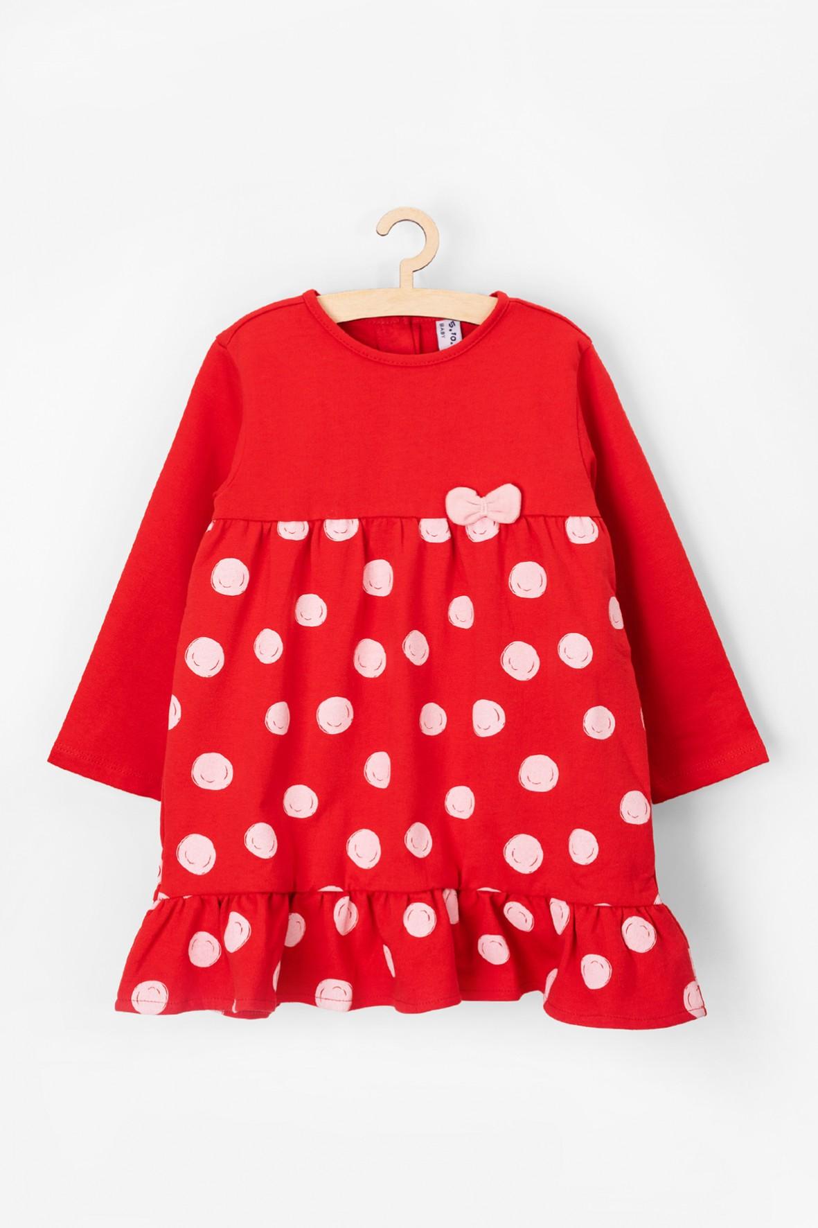 Sukienka niemowlęca 100% bawełna
