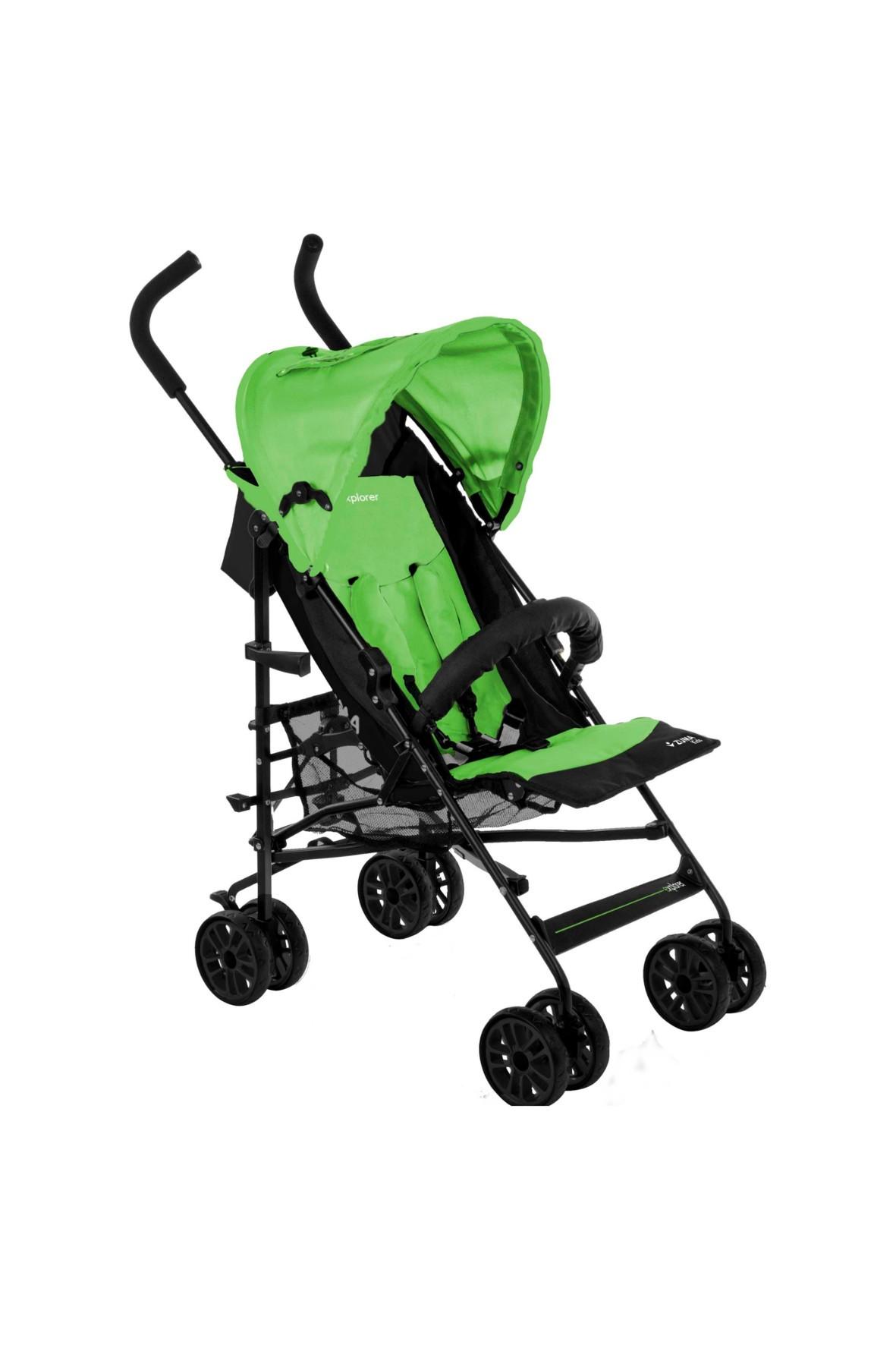 Wózek Spacerowy Explorer Zuma Kids- Zielony