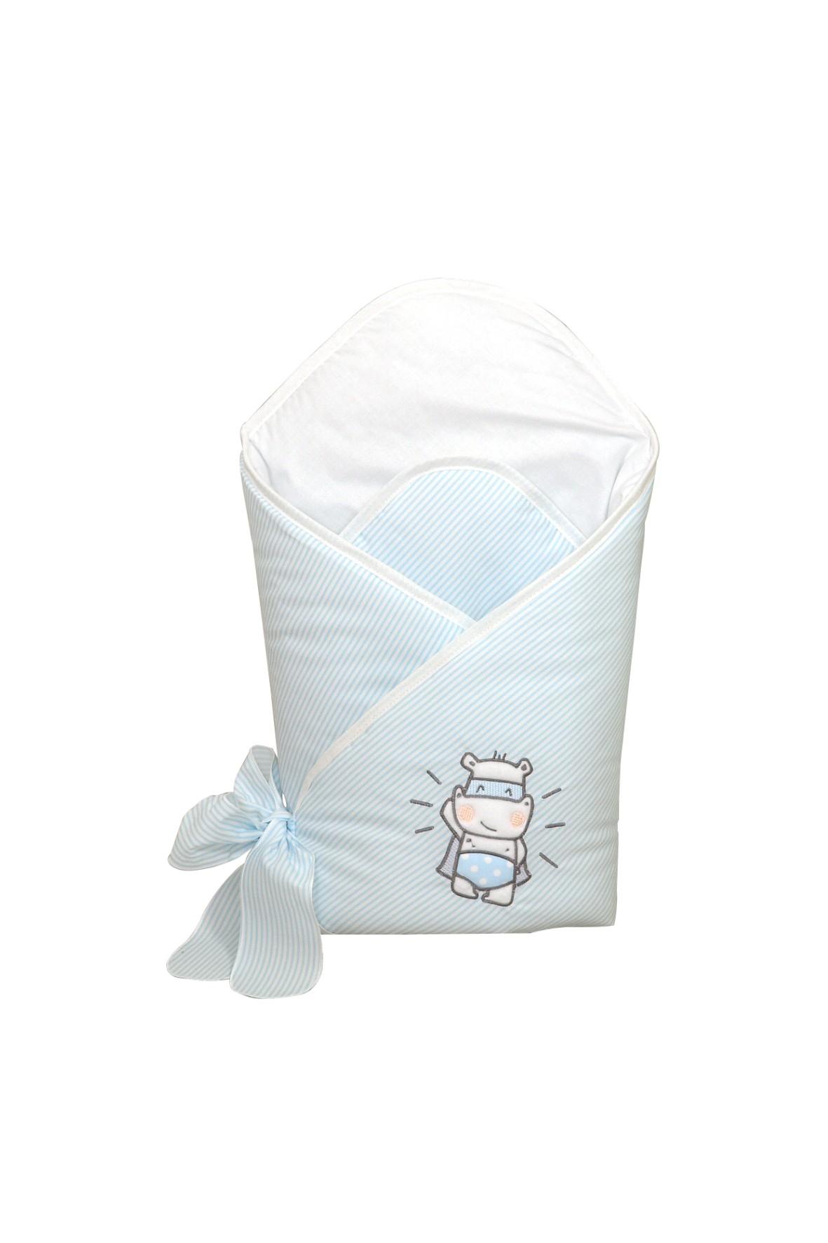 Becik dla dziecka Amy Hero- niebieski w paski