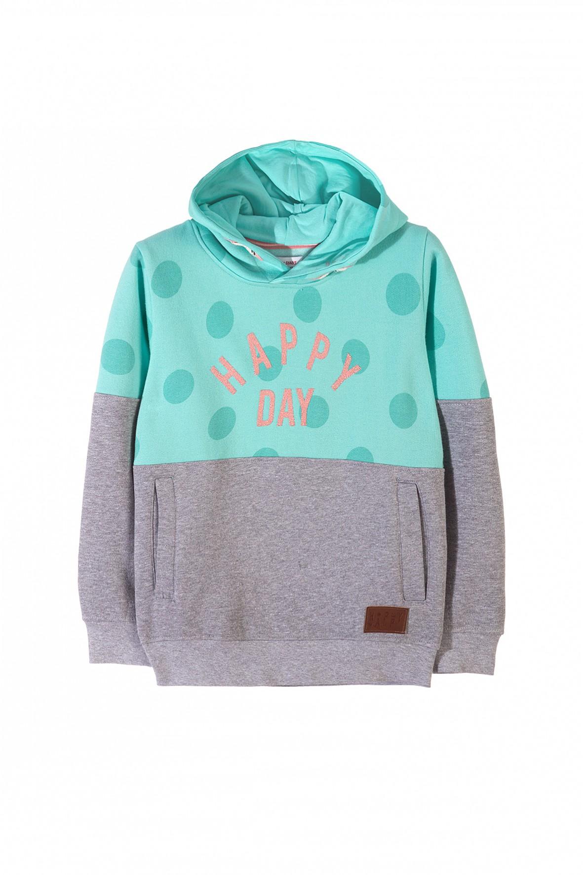 Bluza dresowa dziewczęca 4F3303