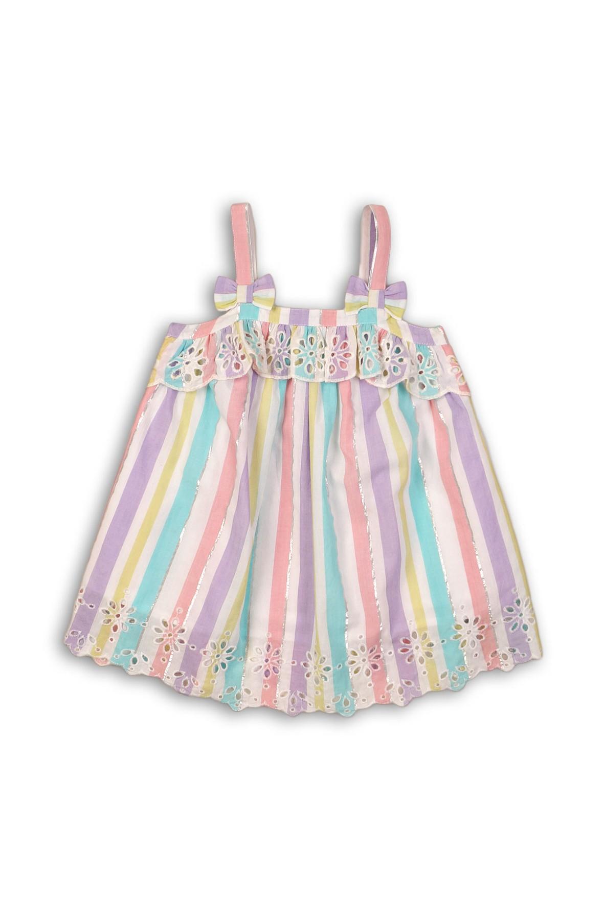 Kolorowa bluzka na ramiączka dla niemowlaka