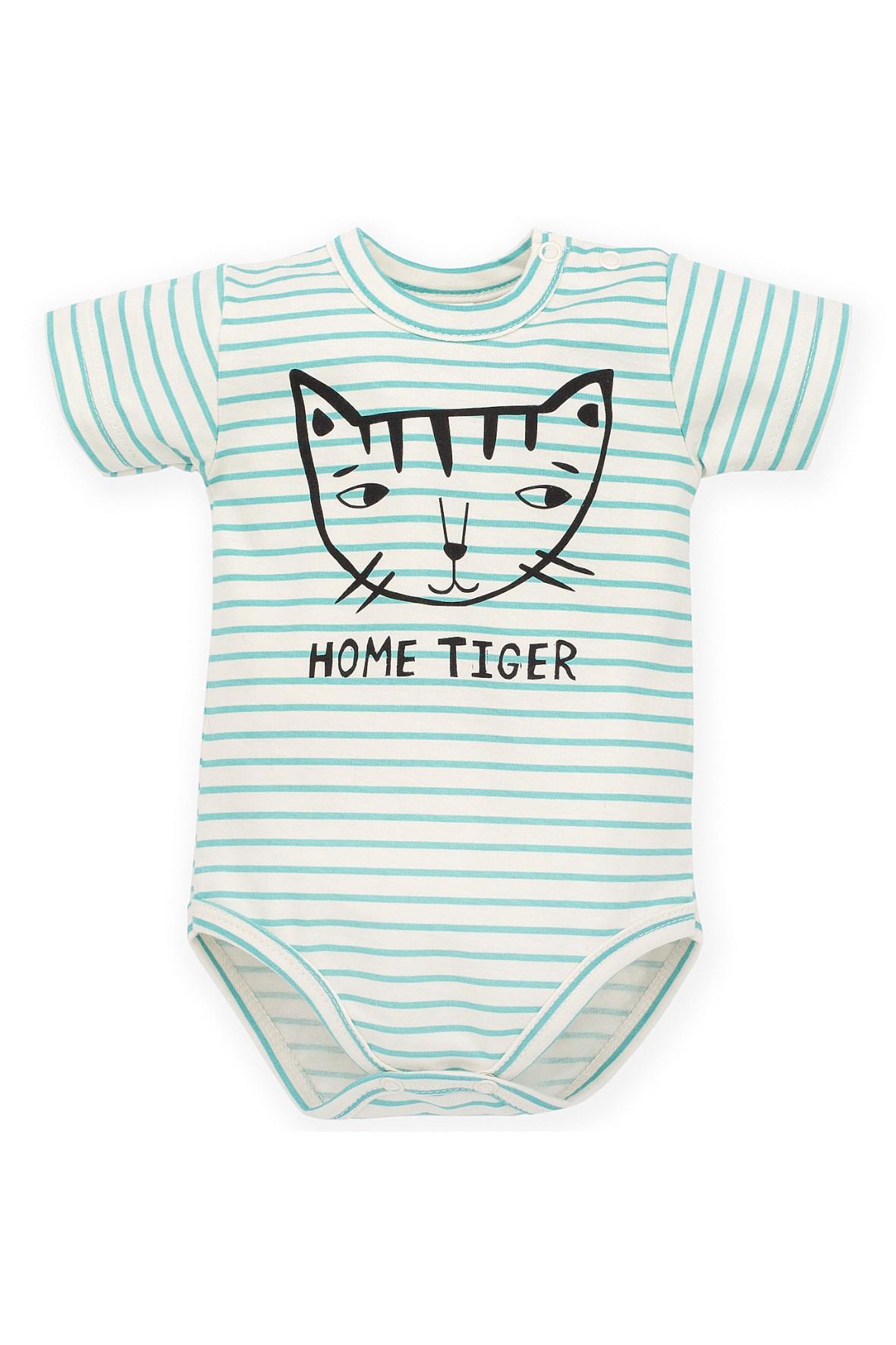 Body niemowlęce w paski- 100% bawełna