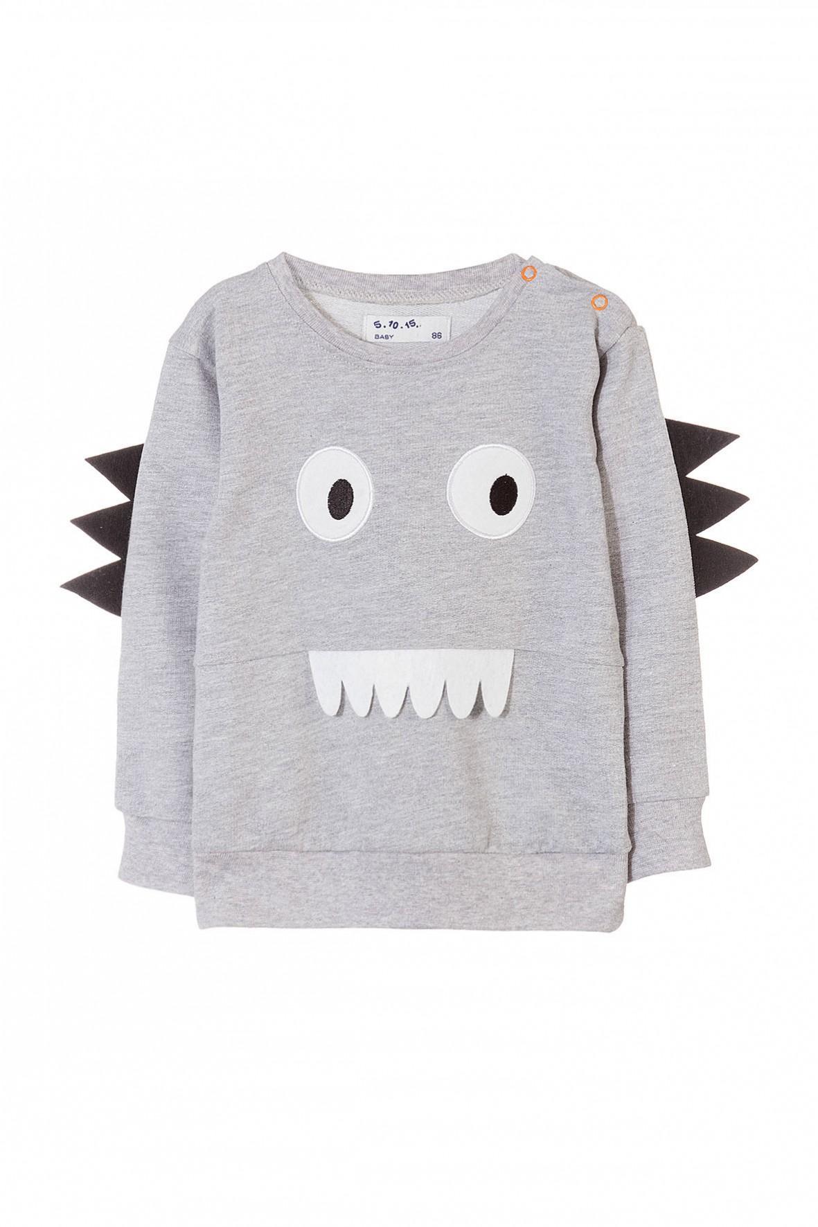 Bluza dresowa cienka niemowlęca 5F3411