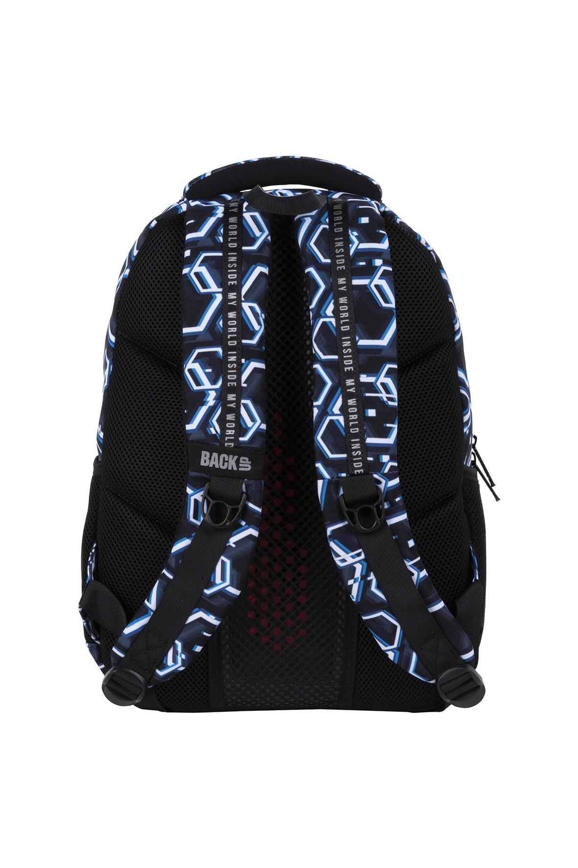 Plecak BackUp chłopięcy ze wzorami