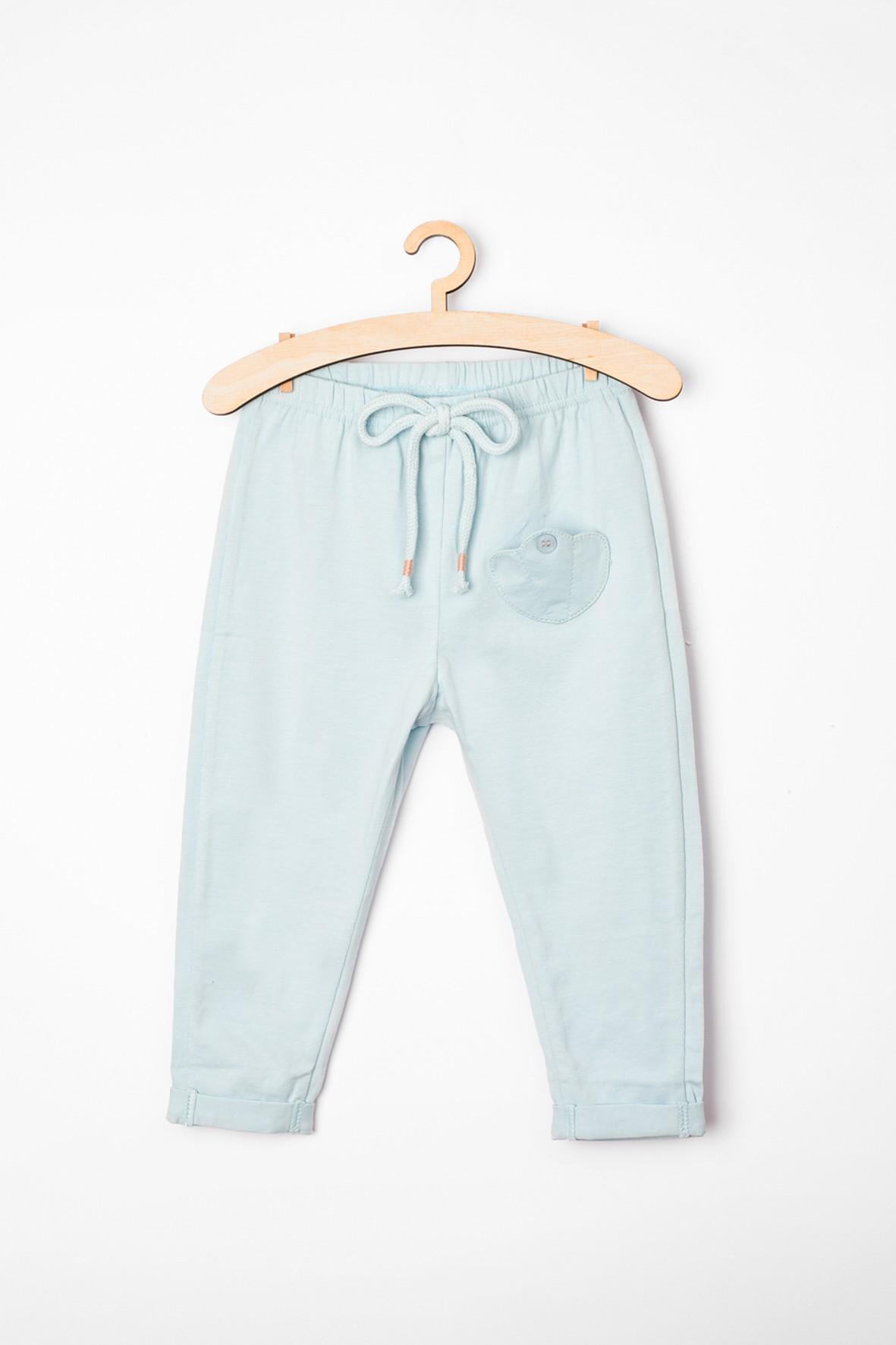 Spodnie niemowlęce błekitne