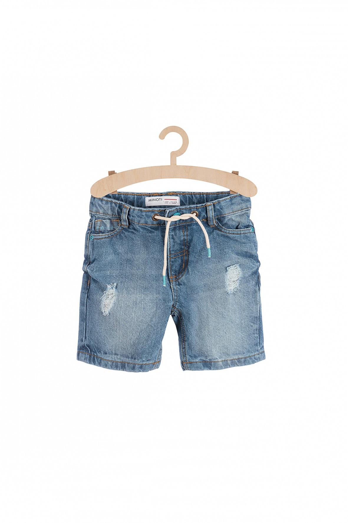 Spodenki jeansowe dla chłopca