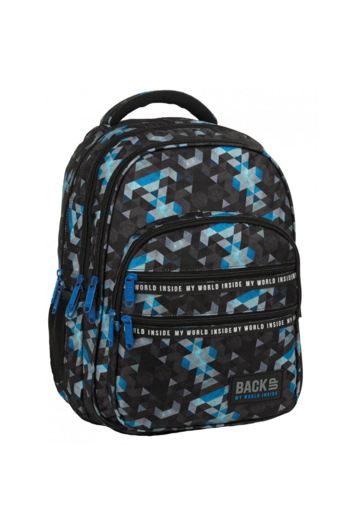 Plecak szkolny dla chłopca BackUp Mozaika