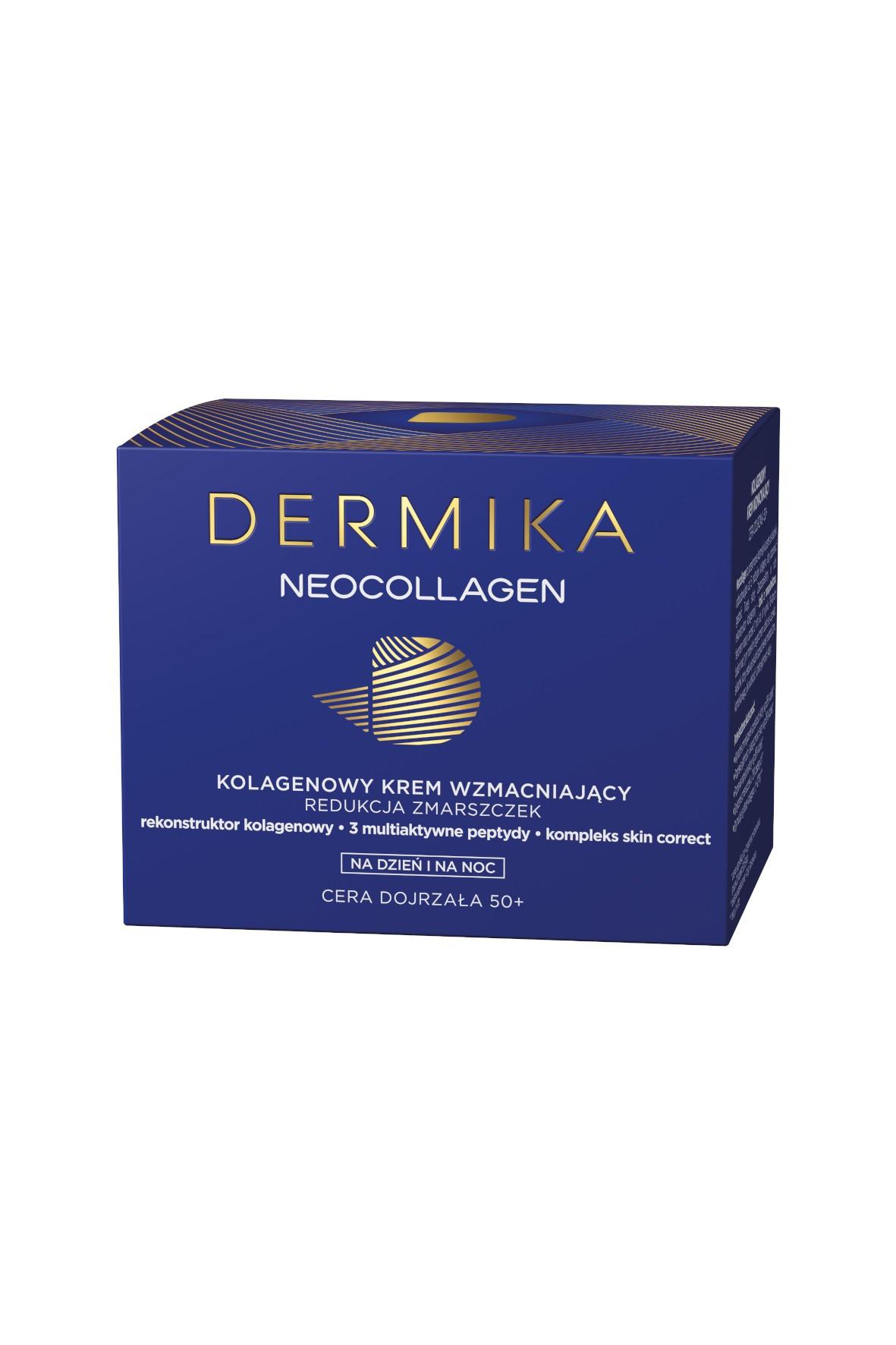 DERMIKA NEOCOLLAGEN 50+ Krem dzień/noc - 50 ml