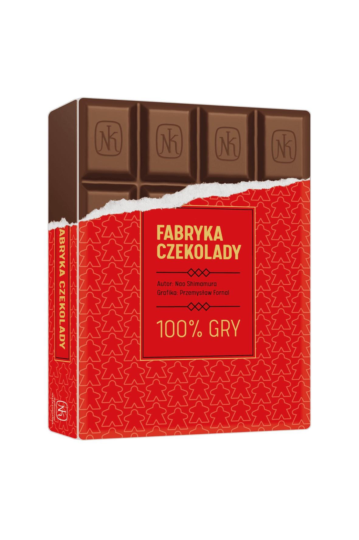 Gra Fabryka Czekolady 8+