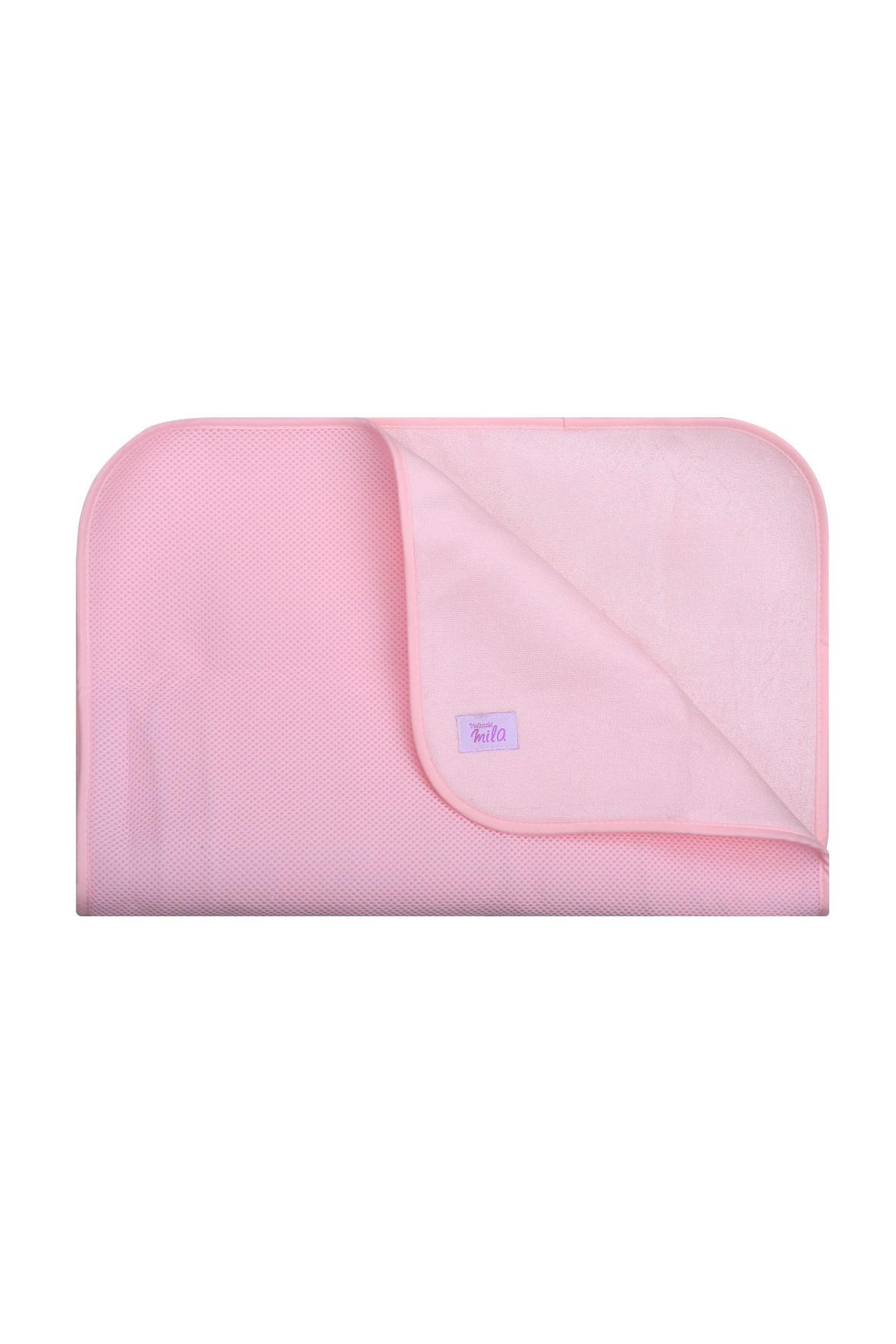 Mata do przewijania 50 x 70 cm - różowa