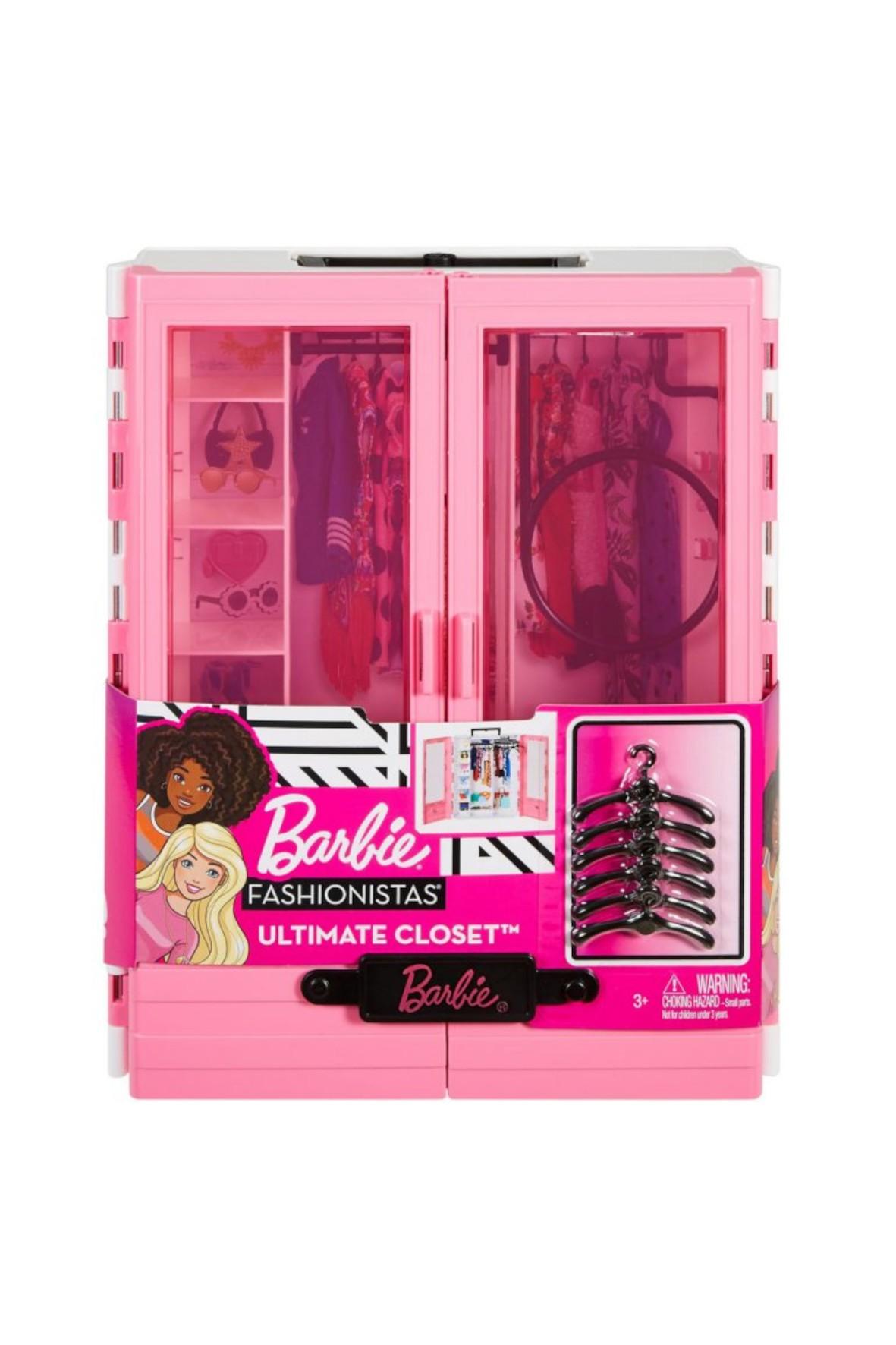 Barbie - Modna szafa na ubranka dla lalki wiek 3+