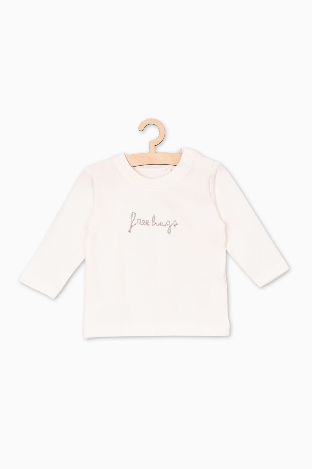 Dzianinowa bluzka dla niemowlaka