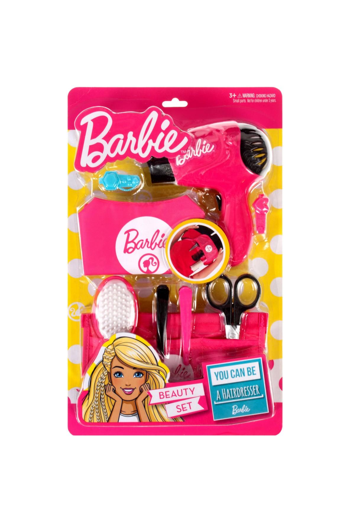 Barbie zestaw fryzjerski