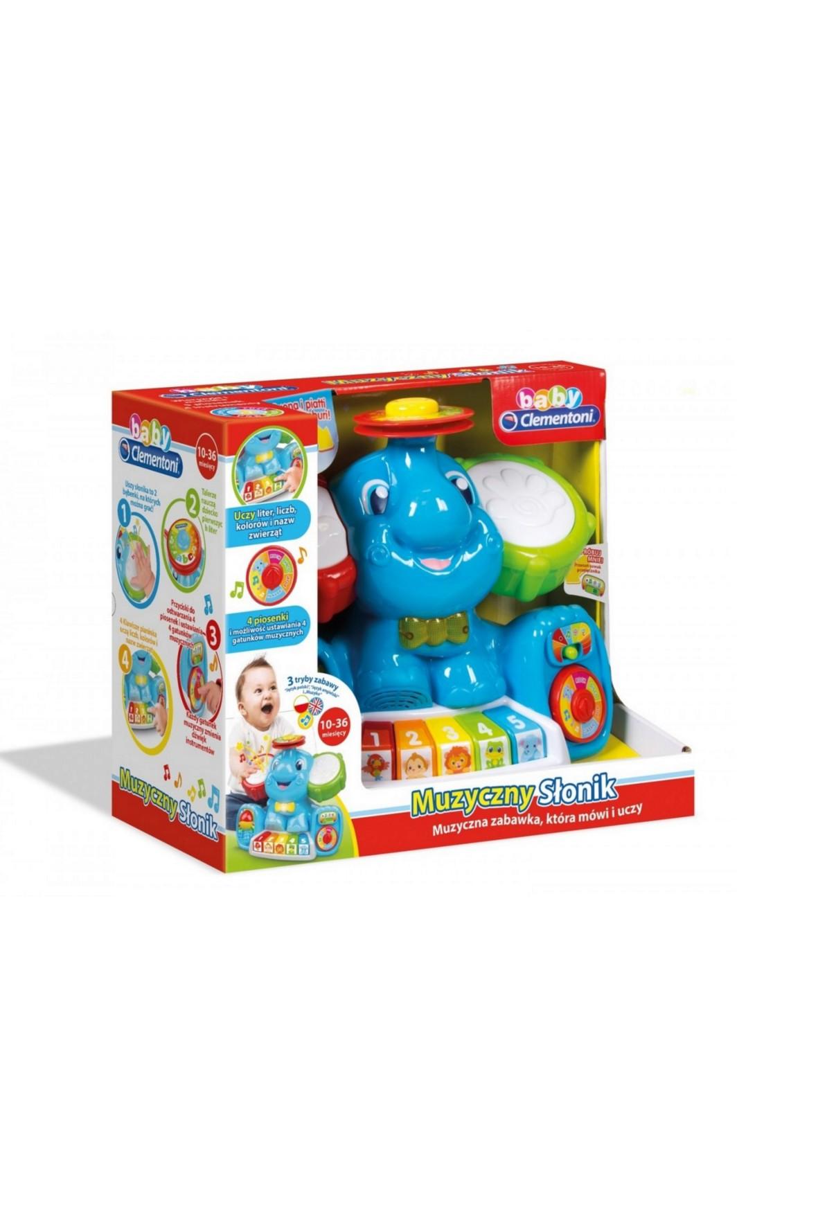 Muzyczny słonik- zabawka 5Y33D9