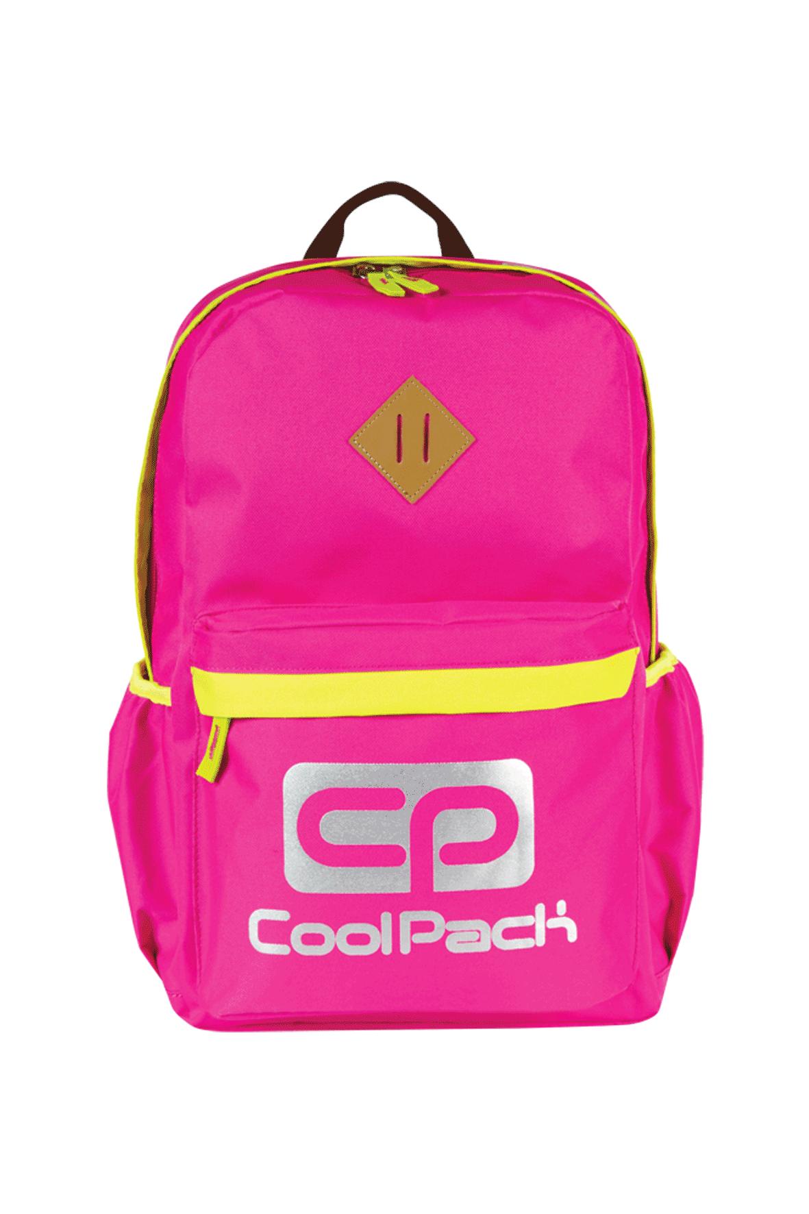 Plecak szkolny dla dziewczynki- różowy