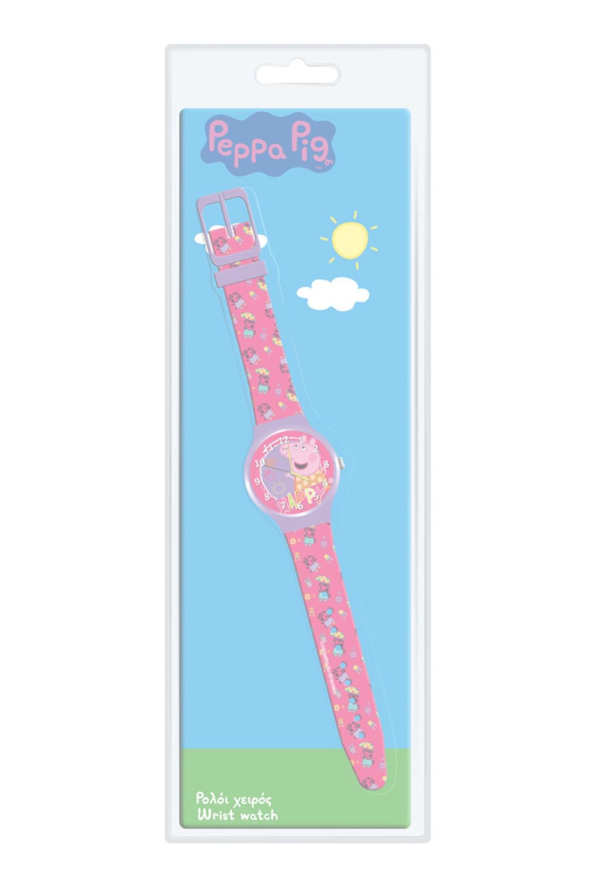 Zegarek analogowy Peppa