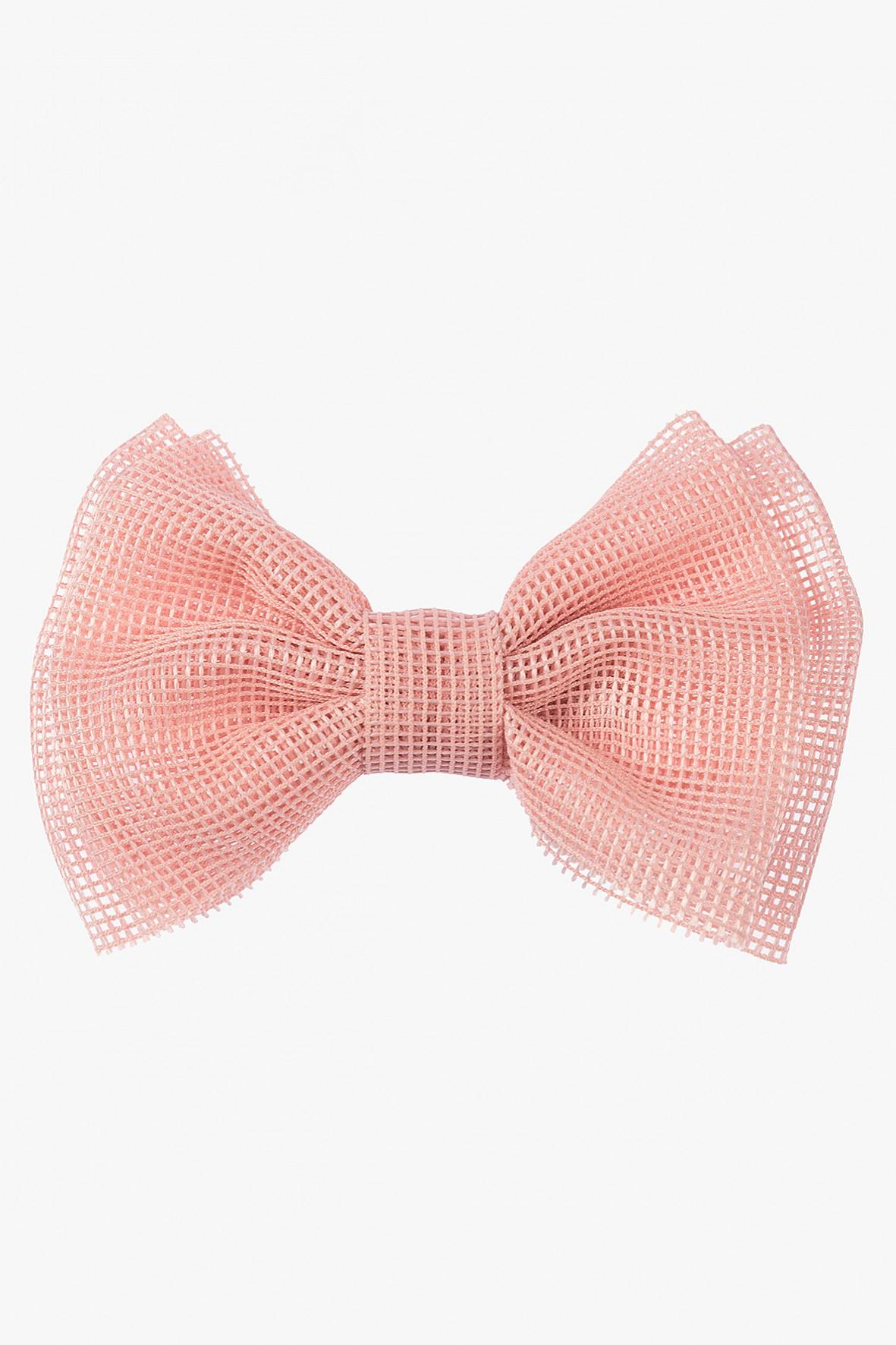 Spinka do włosów kokardka- różowa