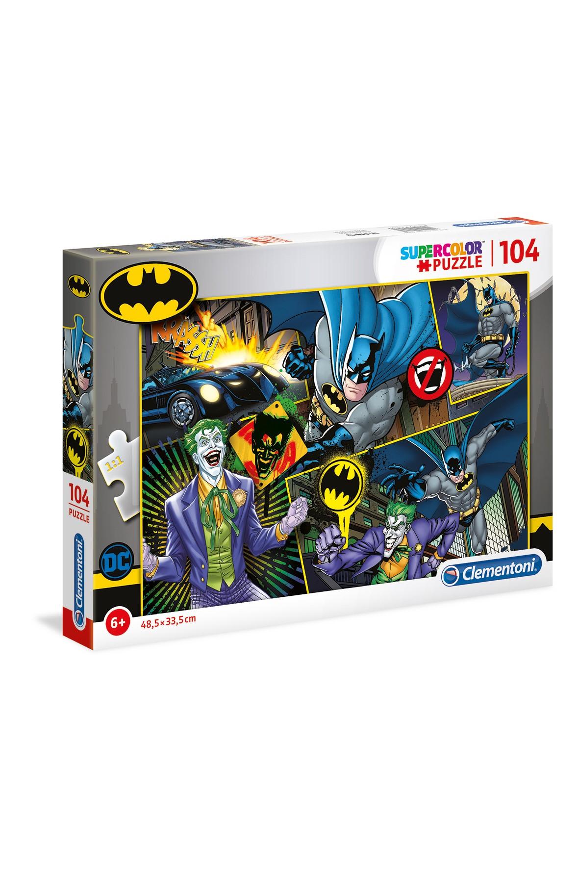 Puzzle Batman Clementoni-104 elementy wiek 6+
