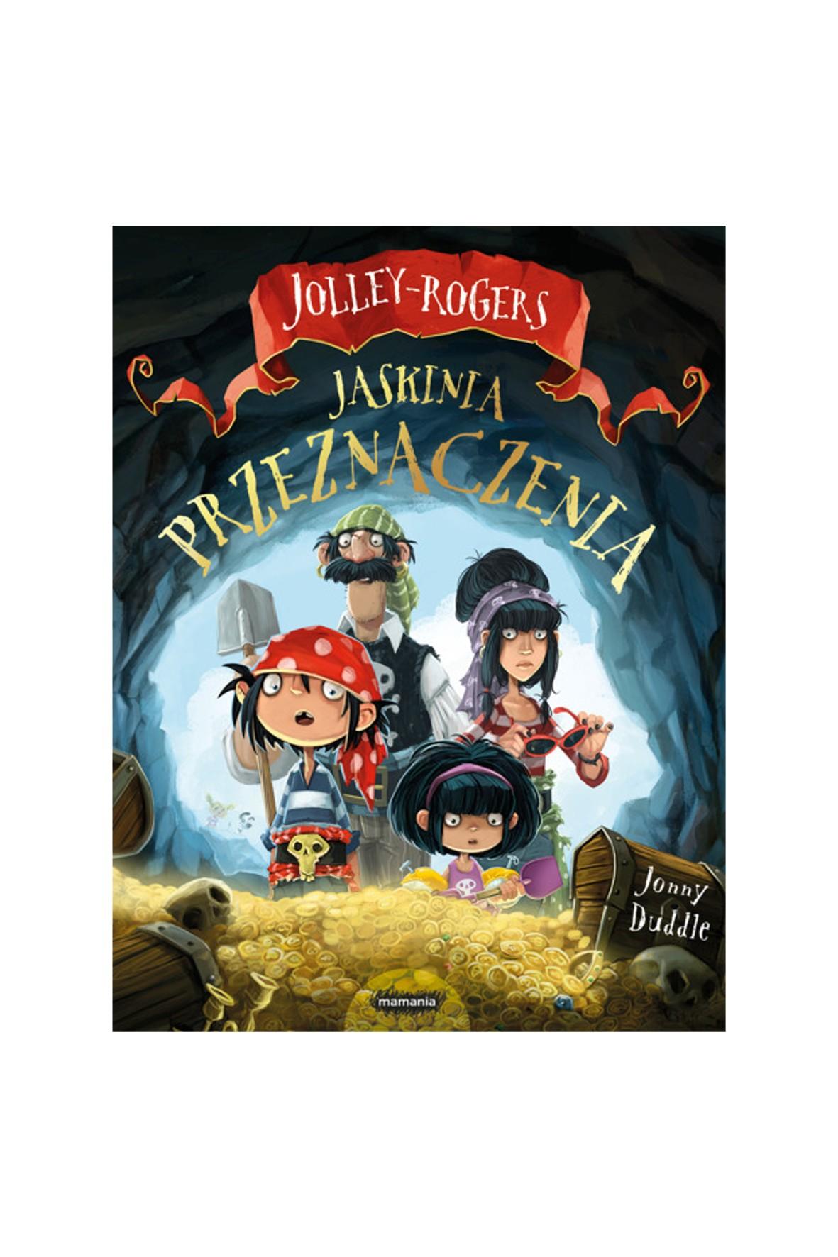 """Książka Jolley-Rogers-,, Jaskinia przeznaczenia"""""""