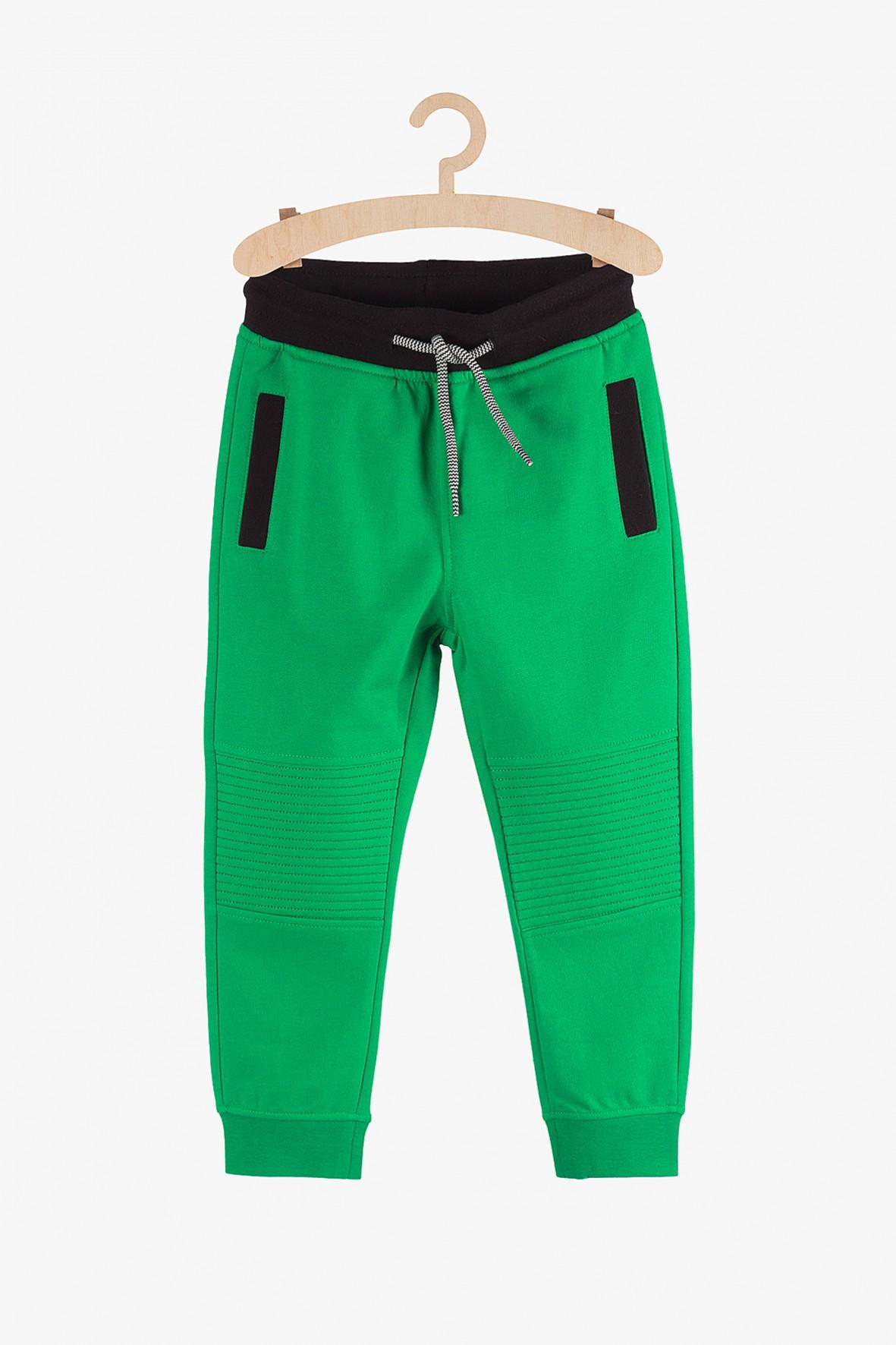 Dresowe spodnie dla chłopca- zielone