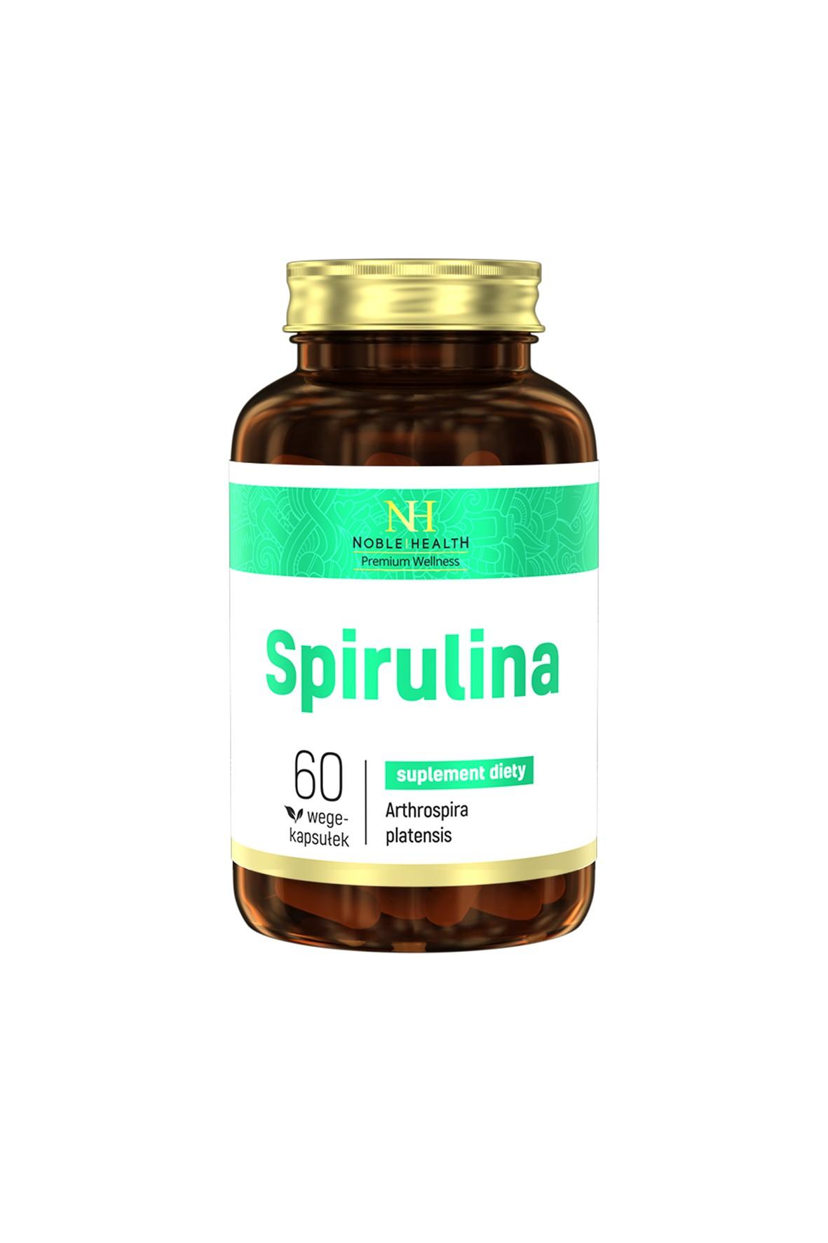 Spirulina Noble Health 60 kapsułek