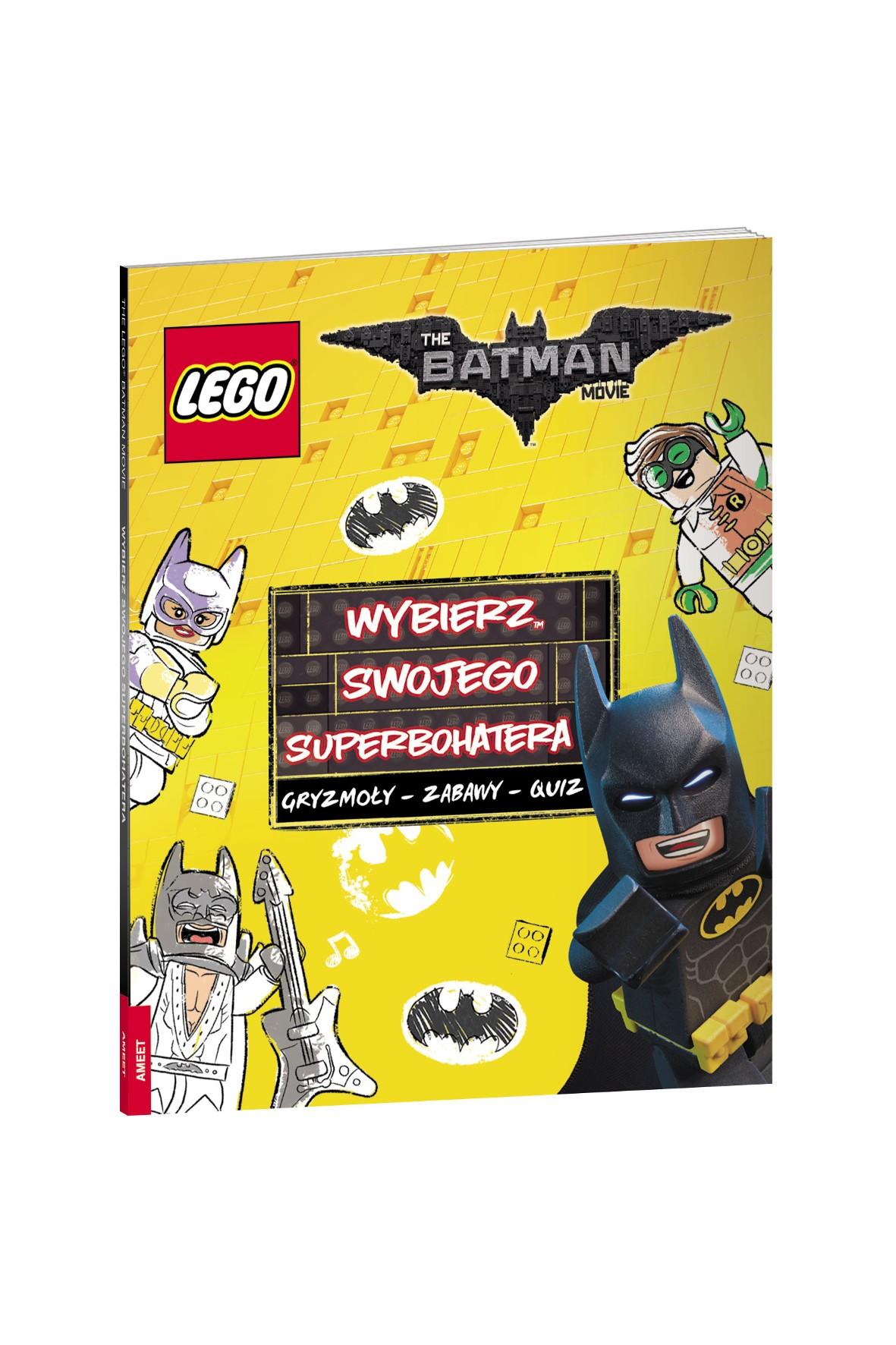 Lego The Batman Movie. Wybierz swojego Superbohatera- książeczka