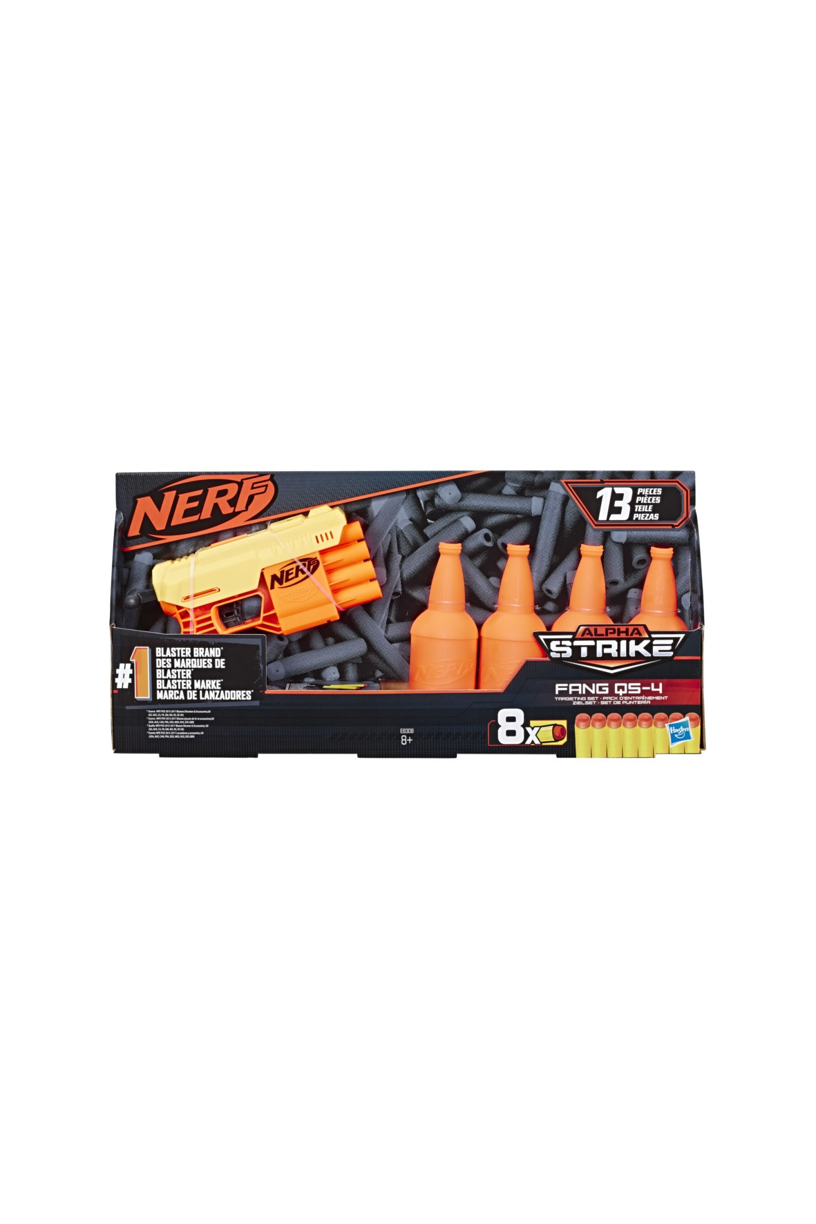 Nerf Alpha Strike Zestaw Fang 8+
