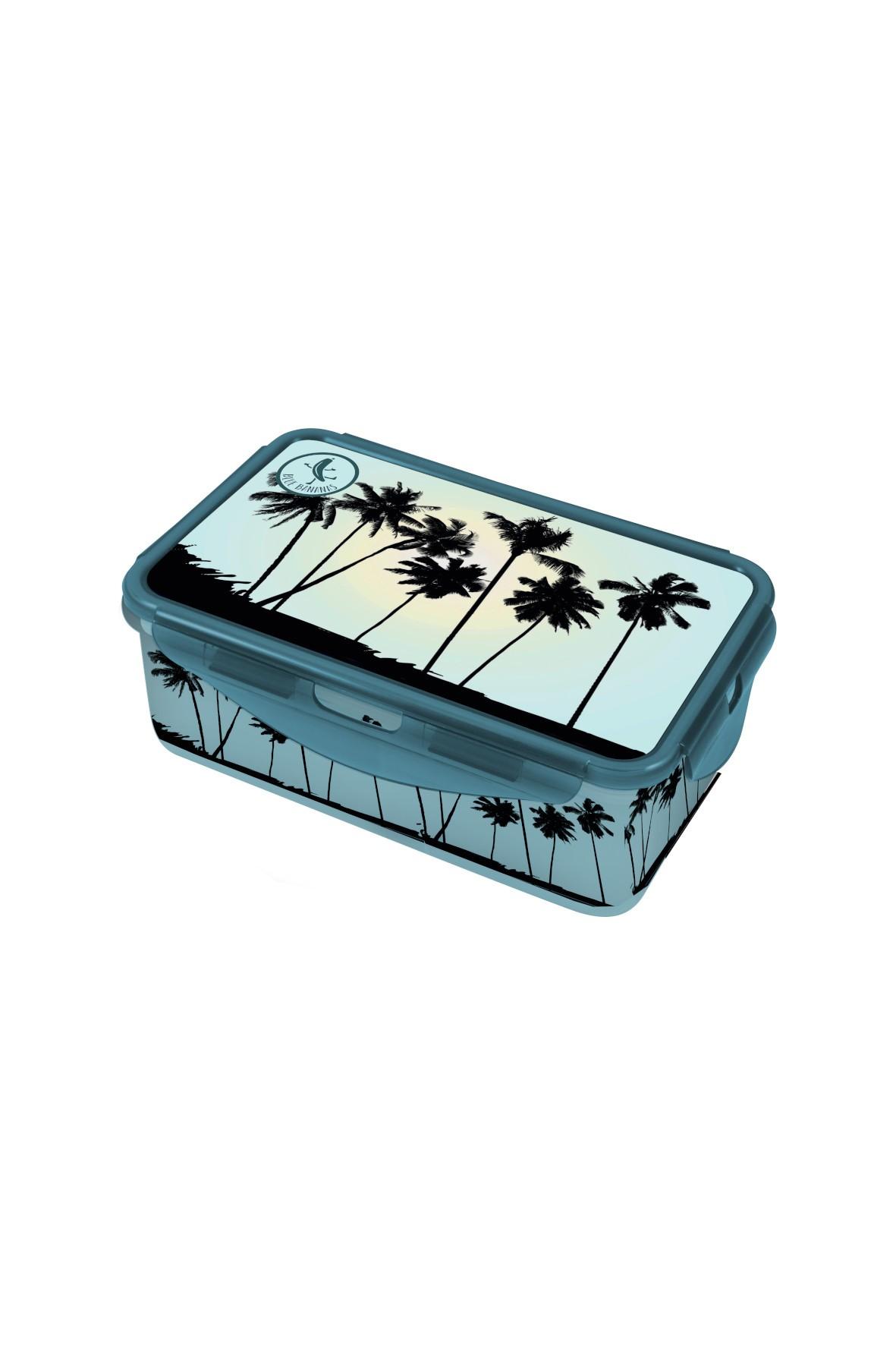 Pudełko śniadaniowe - Plaża 13,5×20,5×7 cm
