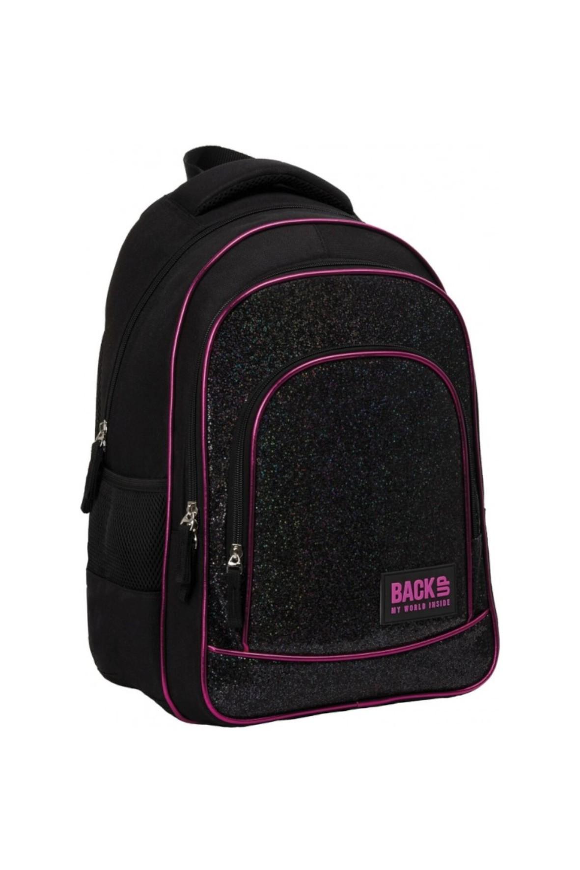 Plecak dziewczęcy Czarny