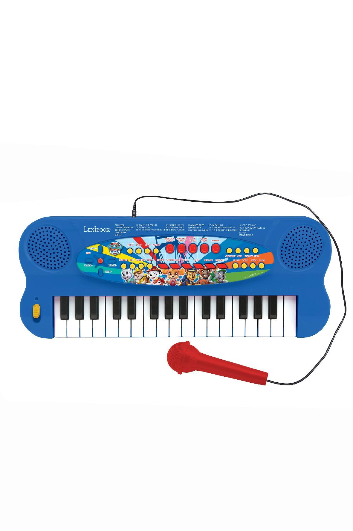 Elektroniczny keyboard Psi Patrol z mikrofonem wiek 3+