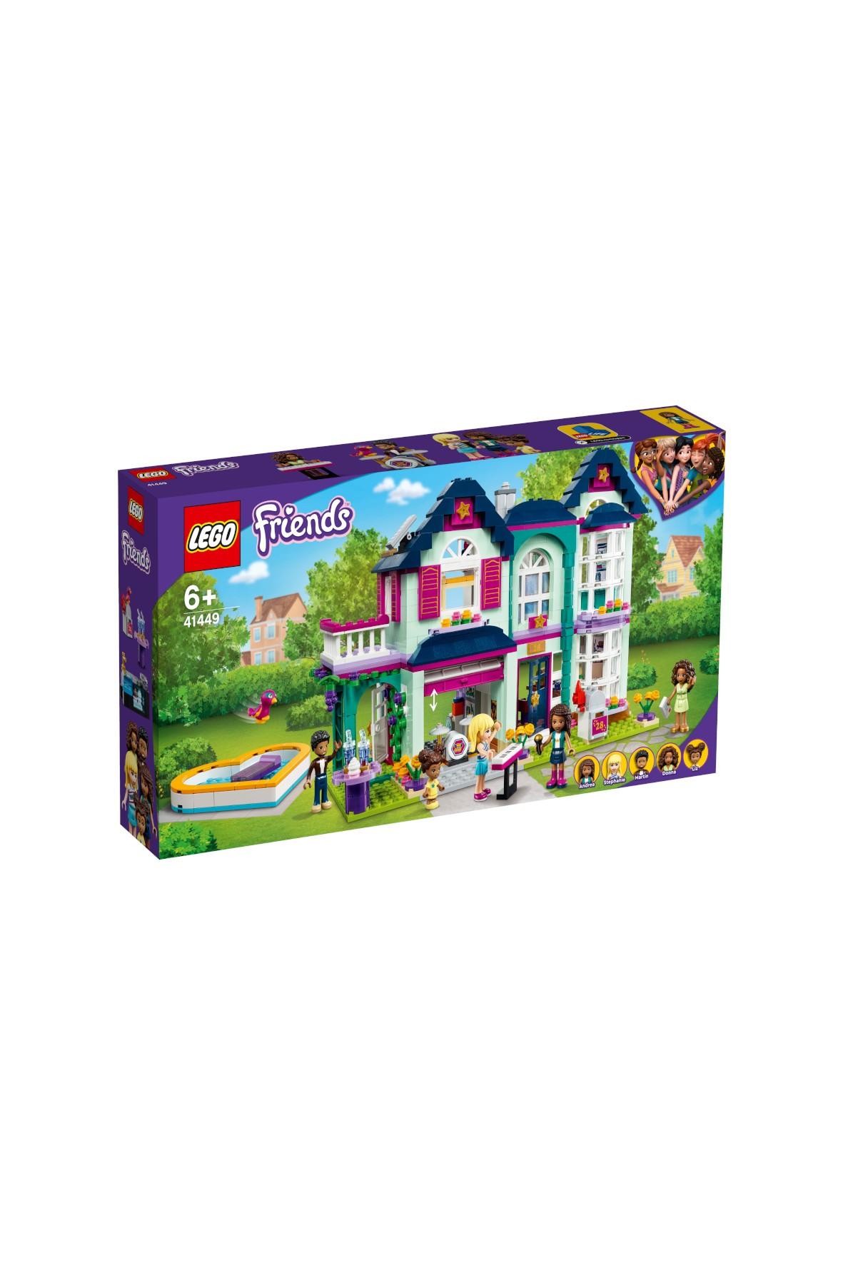 Klocki LEGO Friends - Dom rodzinny Andrei - 802 el
