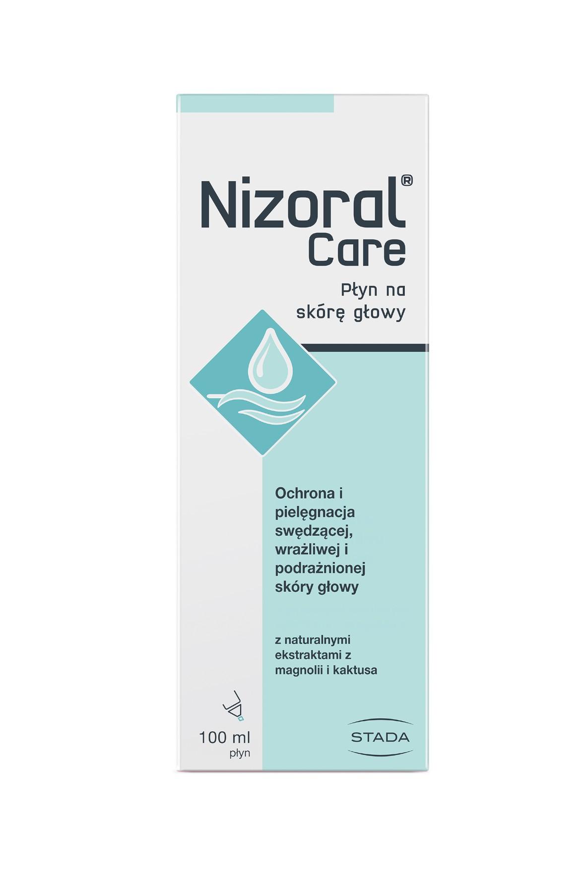 Nizoral care płyn na skórę głowy - 100 ml
