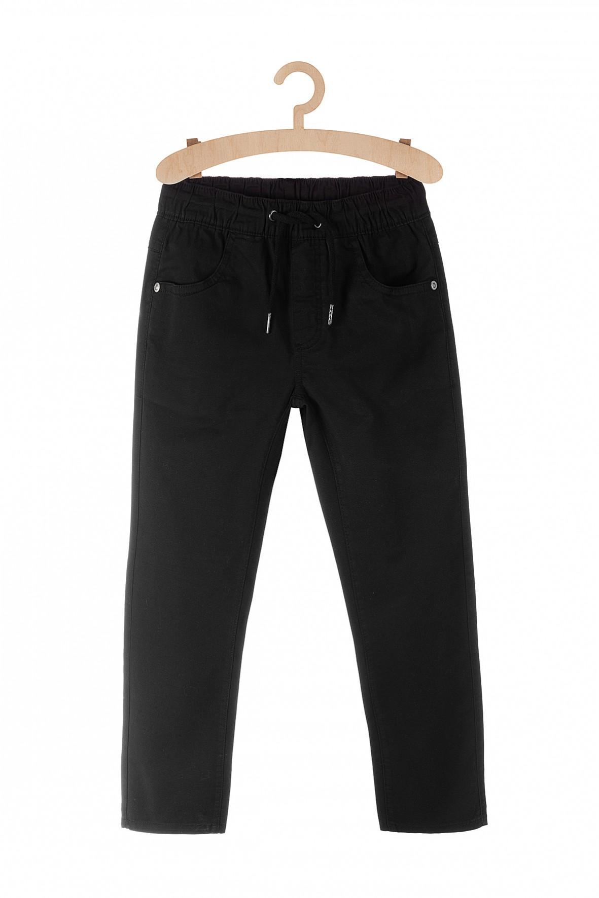 Spodnie dla chłopca - czarne